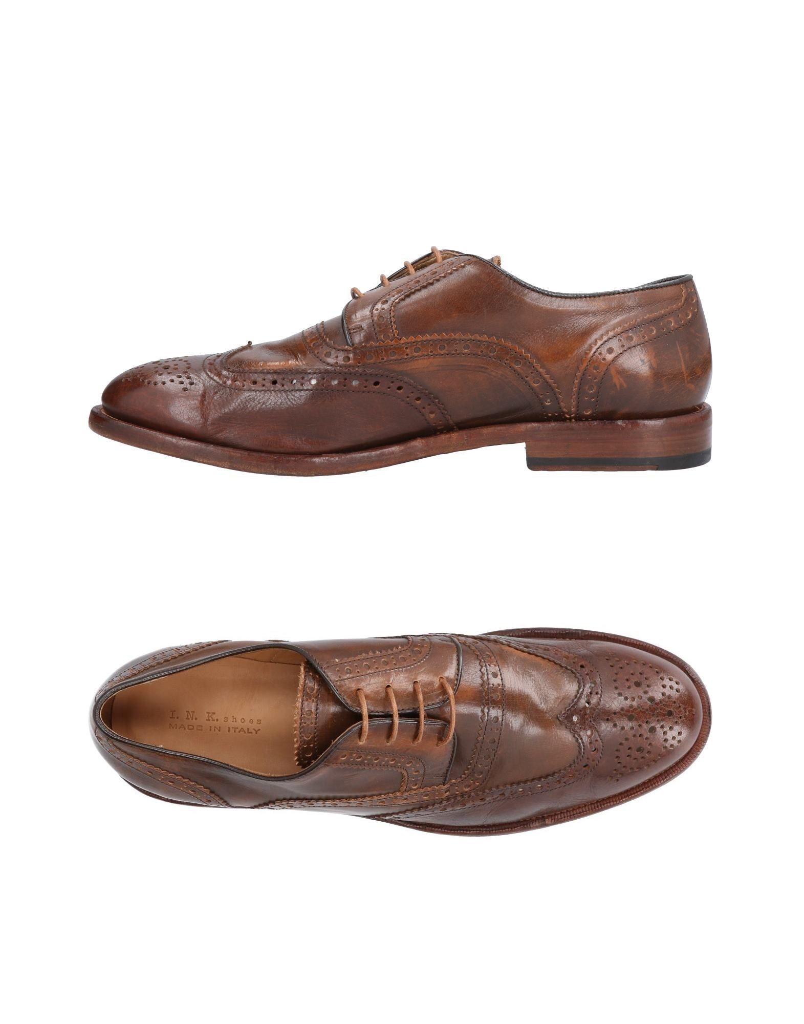 Rabatt echte Schuhe I.N.K. Shoes Schnürschuhe Herren  11488080PK