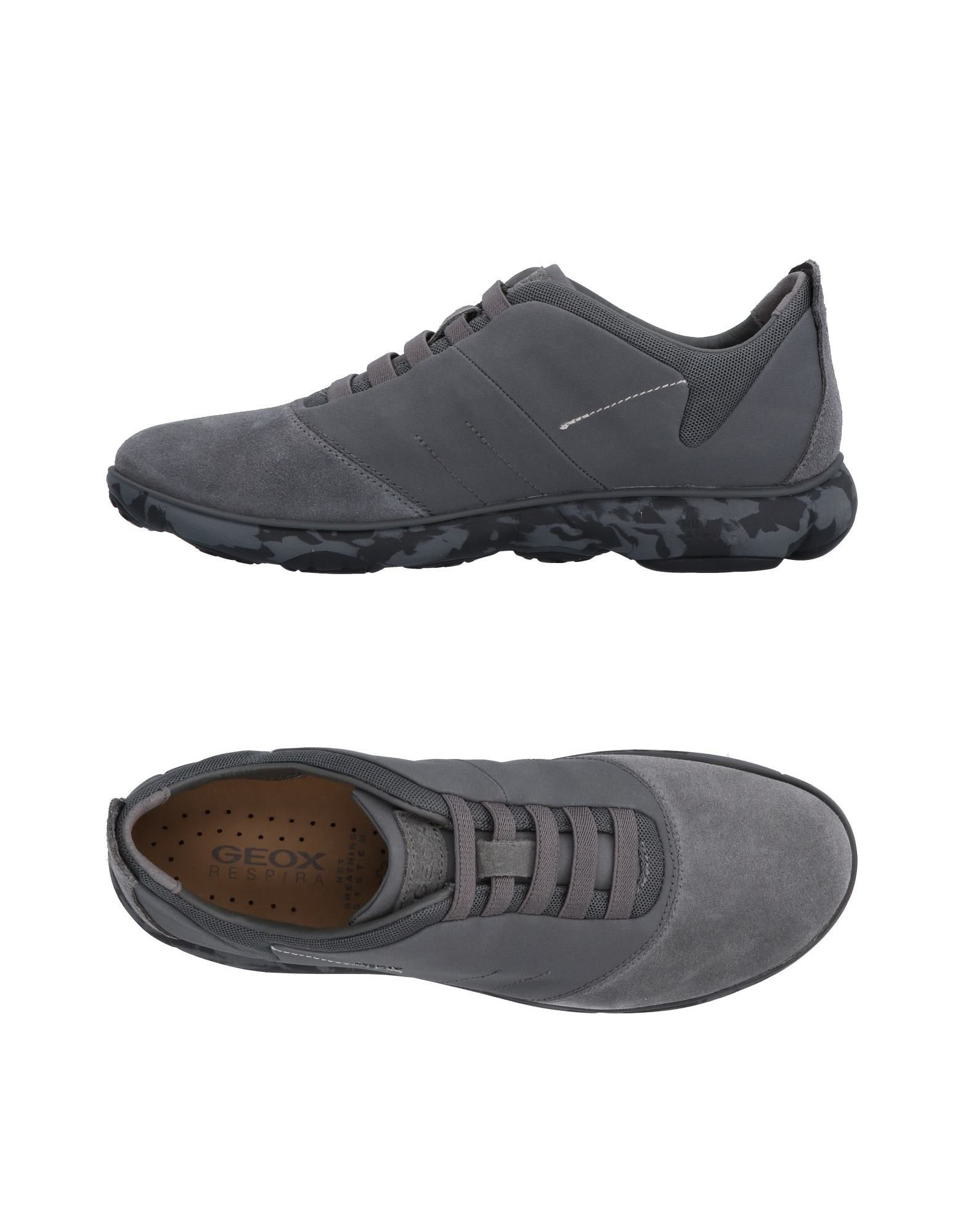 Sneakers Geox Homme - Sneakers Geox  Gris Chaussures casual sauvages