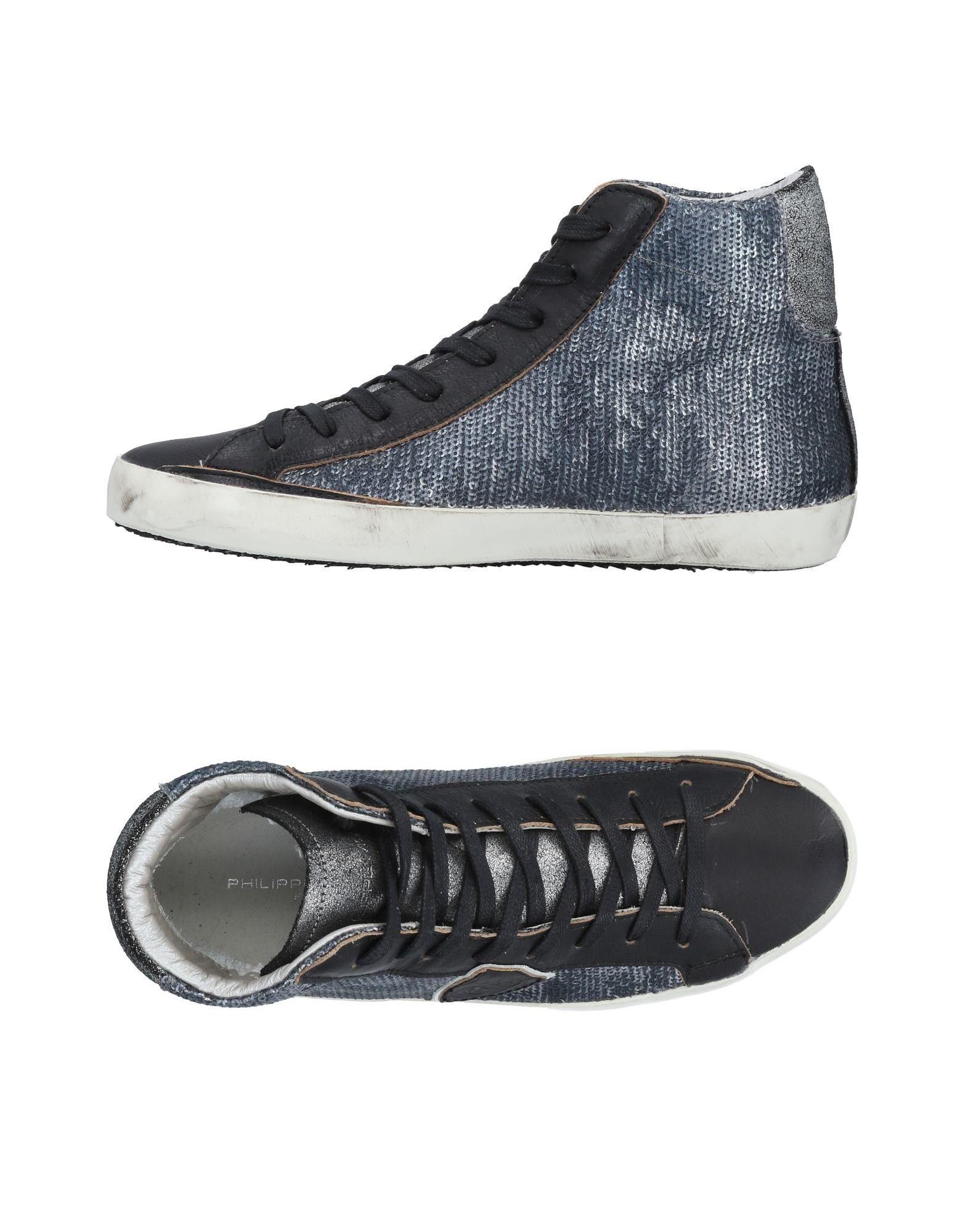 Moda barata y hermosa Mujer Zapatillas Philippe Model Mujer hermosa - Zapatillas Philippe Model  Azul oscuro 6f3589