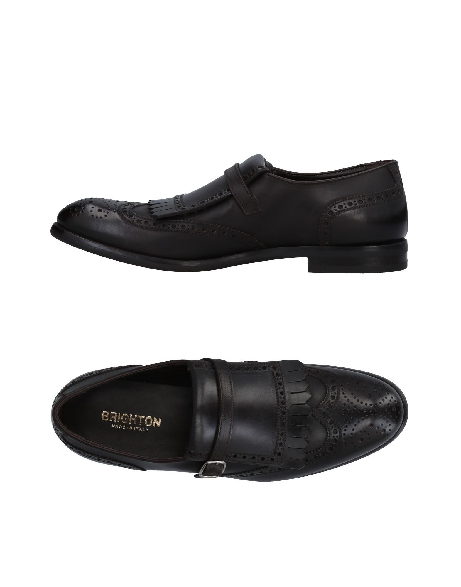 Rabatt echte Mokassins Schuhe Brighton Mokassins echte Herren  11488341NN 4cae03