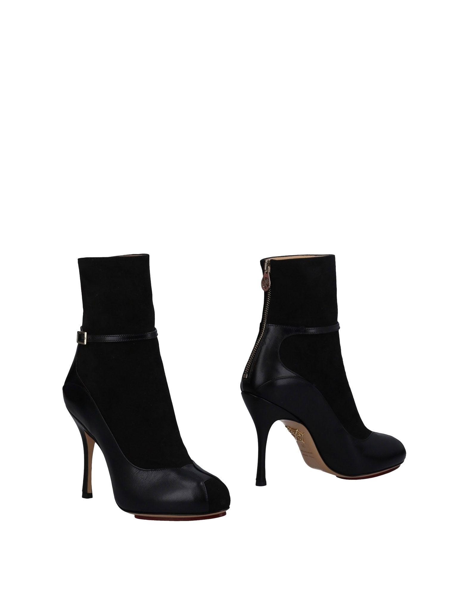 Charlotte Olympia Stiefelette Damen  11488409JBGünstige gut aussehende Schuhe