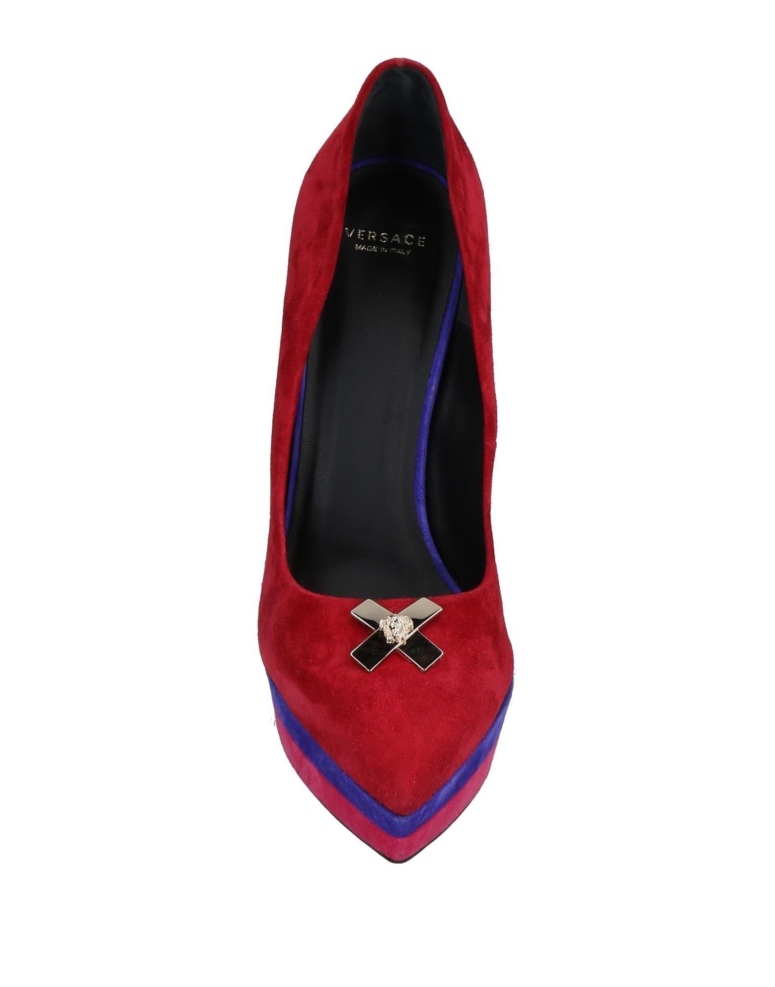 Versace gut Pumps Damen  11488565QKGünstige gut Versace aussehende Schuhe d9f16a