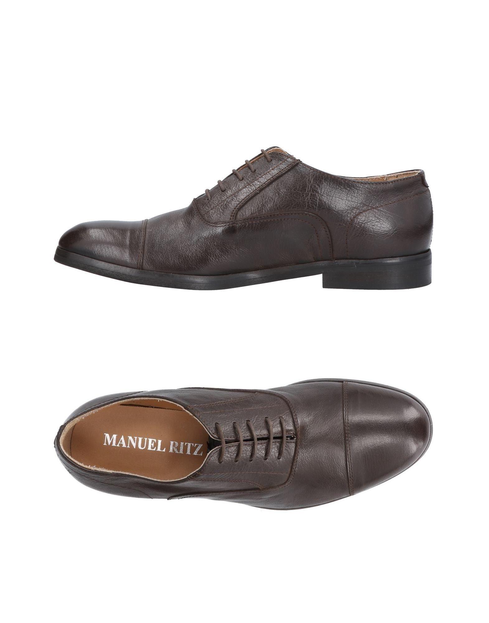 Rabatt echte Schuhe Manuel Ritz Schnürschuhe Herren  11488589AP