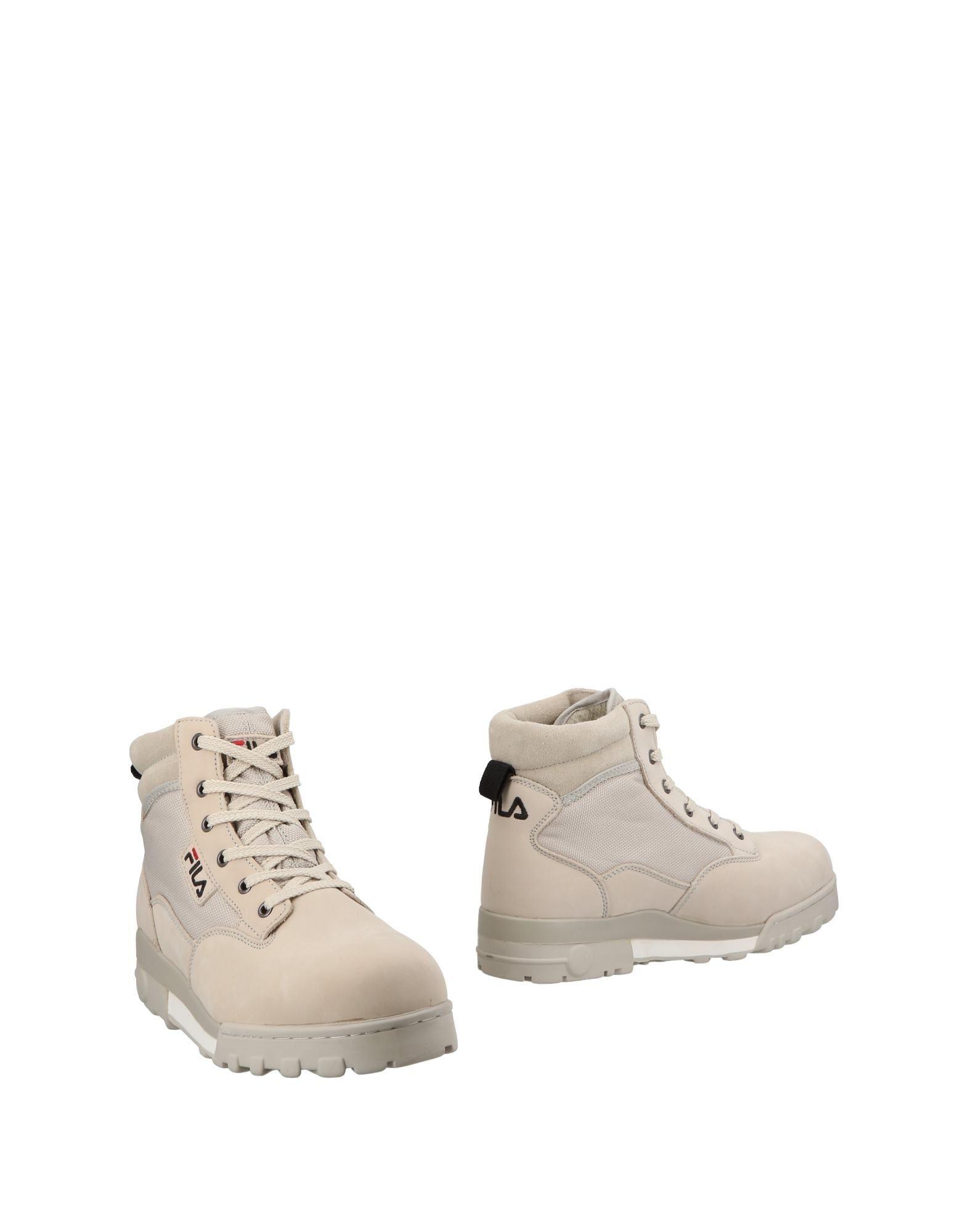 Rabatt echte Schuhe Fila Stiefelette Herren  11488655KG