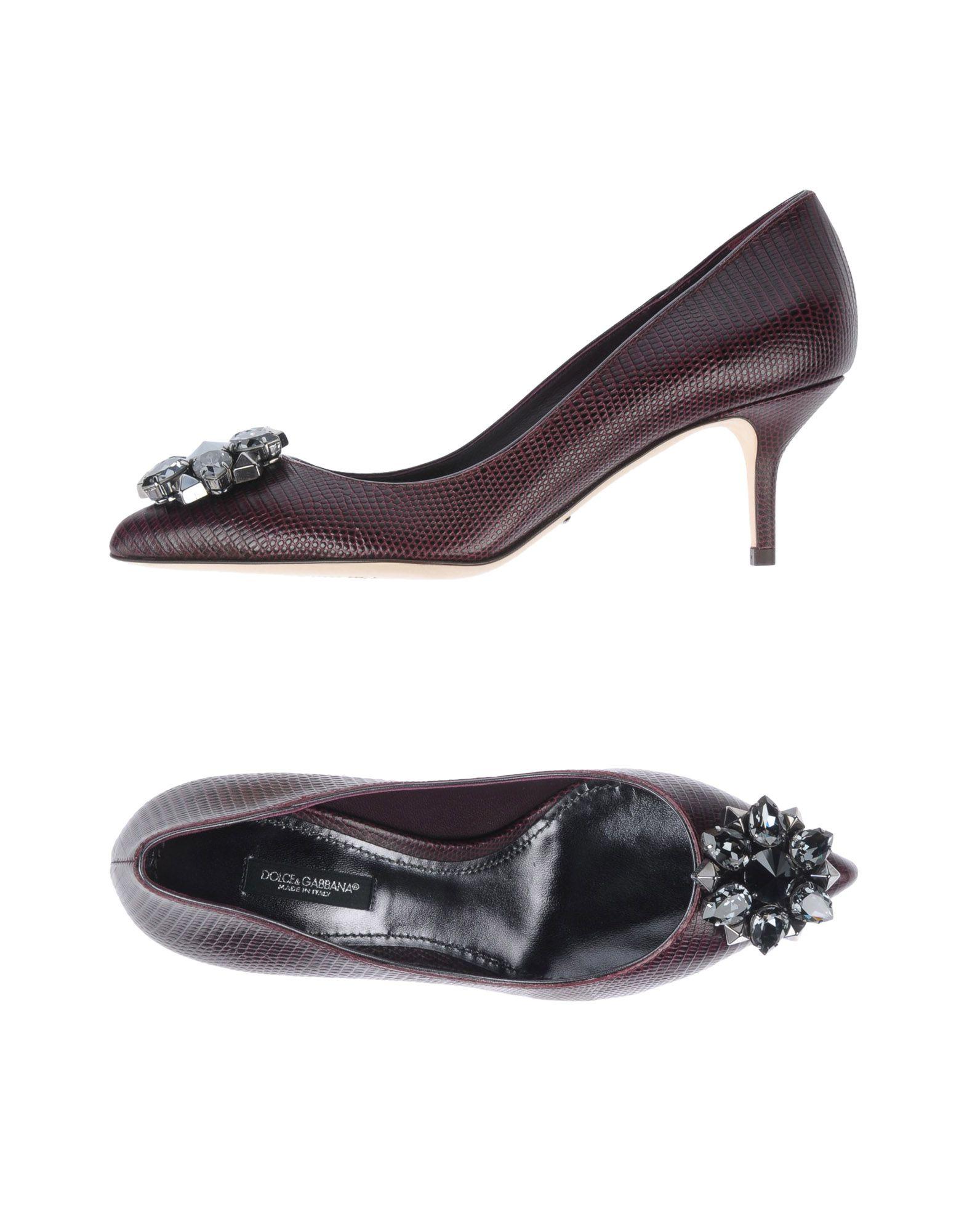 Zapatos de mujer mujer baratos zapatos de mujer de Zapato De Salón Dolce & Gabbana Mujer - Salones Dolce & Gabbana  Berenjena 8610b9
