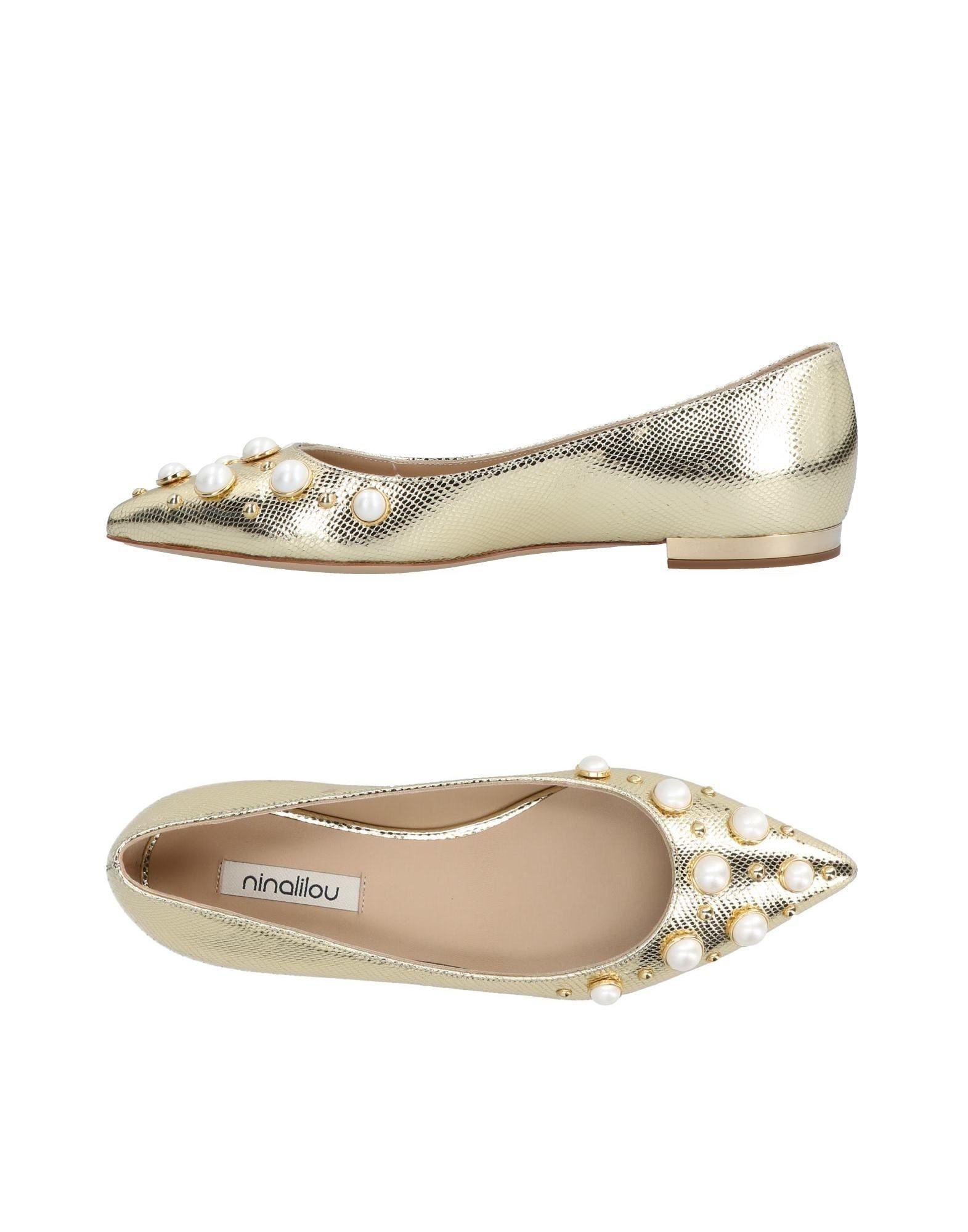 Stilvolle Ninalilou billige Schuhe Ninalilou Stilvolle Ballerinas Damen  11488892KG 4eab09