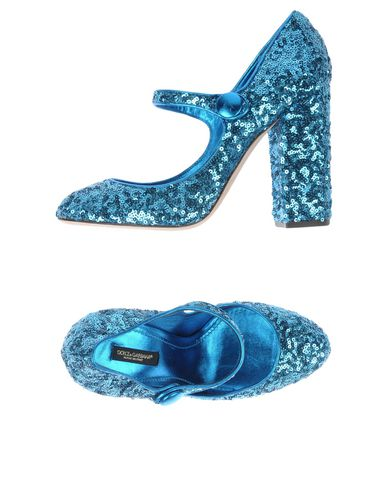 amp; Dolce Gabbana D'azur Bleu Escarpins d76v4
