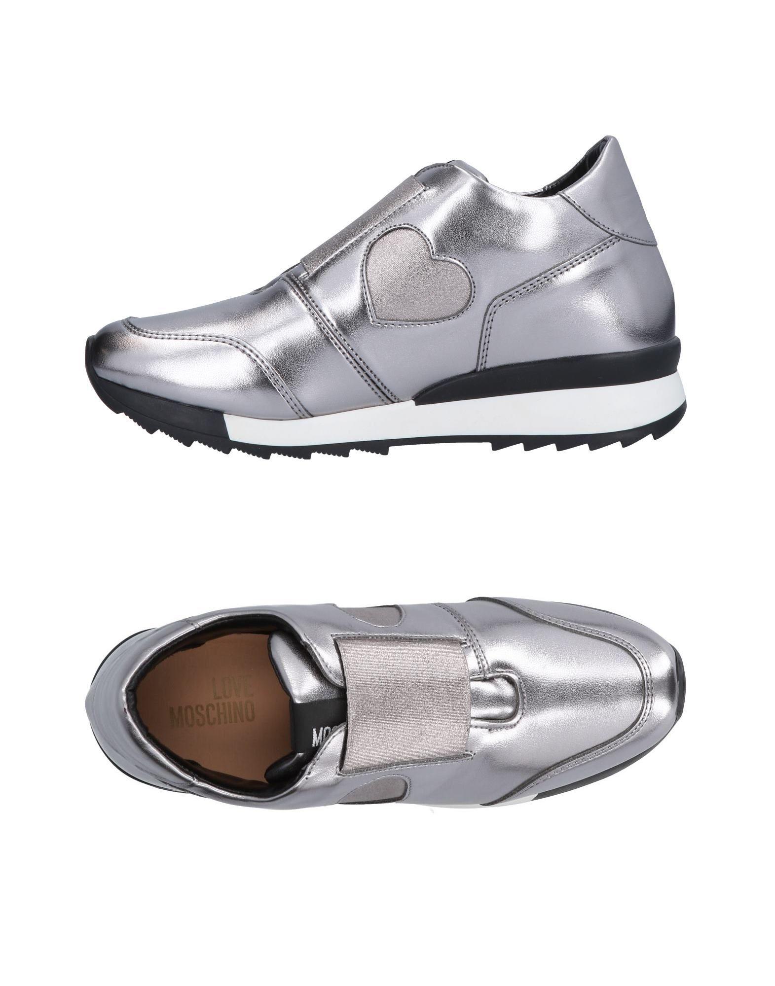 Love Sneakers Moschino Sneakers Love Damen  11488964BD Neue Schuhe 7c2468