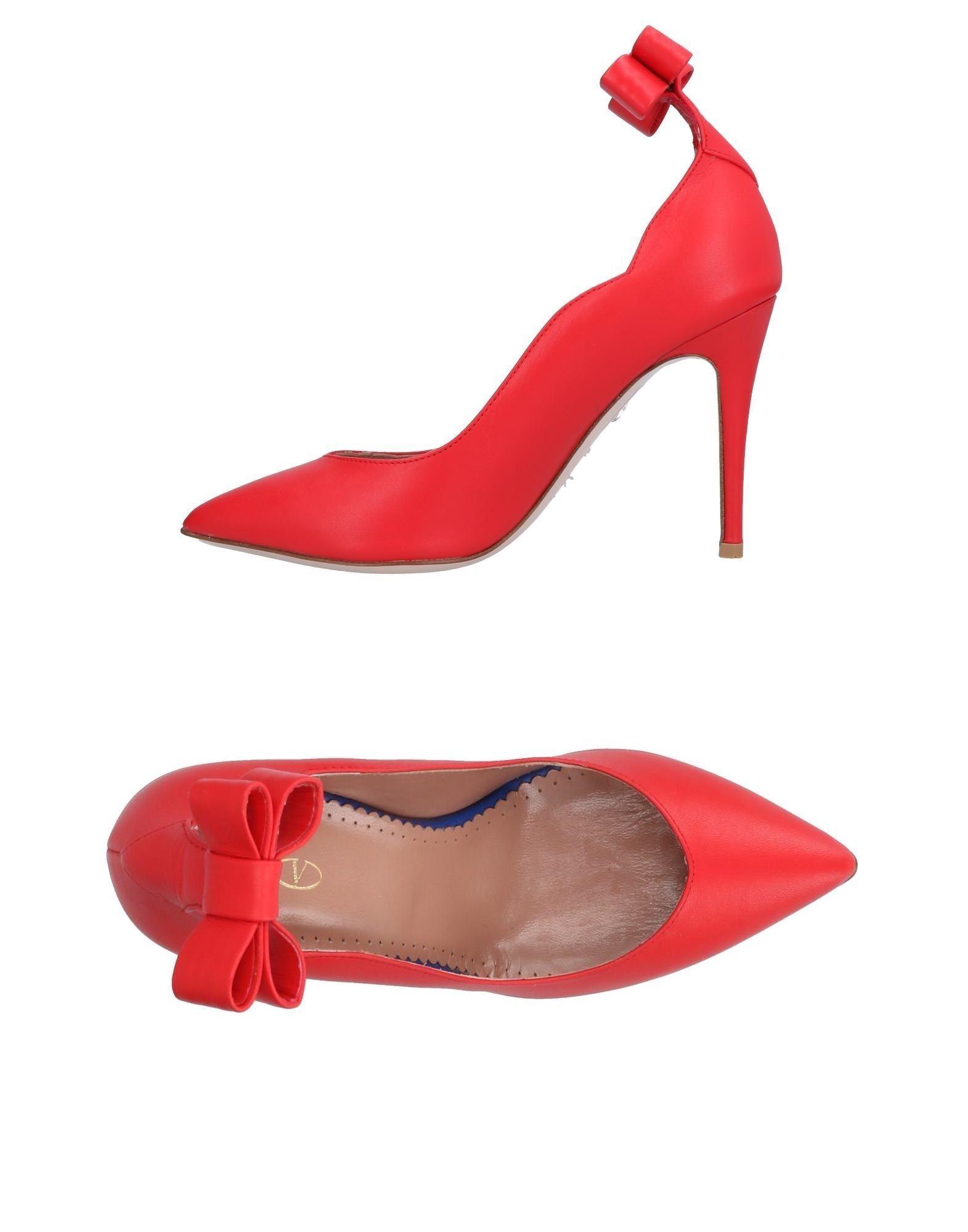 Red(V) Heiße Pumps Damen  11489104GB Heiße Red(V) Schuhe 2696b3