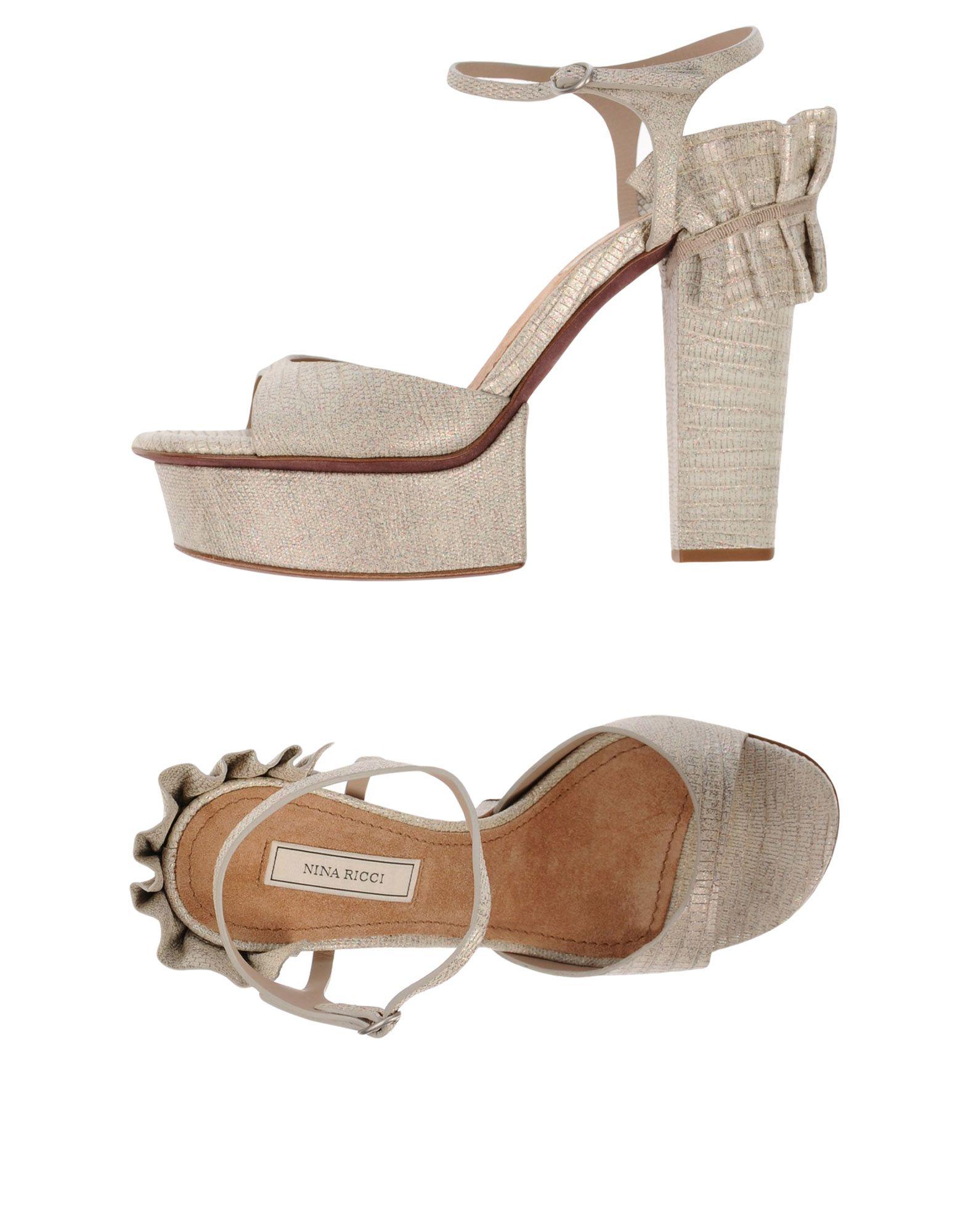 Nina Ricci 11489553AQGünstige Sandalen Damen  11489553AQGünstige Ricci gut aussehende Schuhe eb7ce2