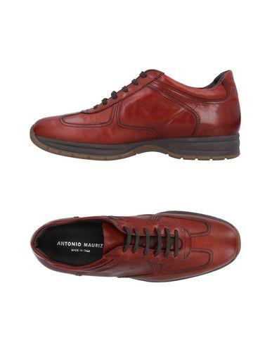 ANTONIO MAURIZI Sneakers in Brick Red