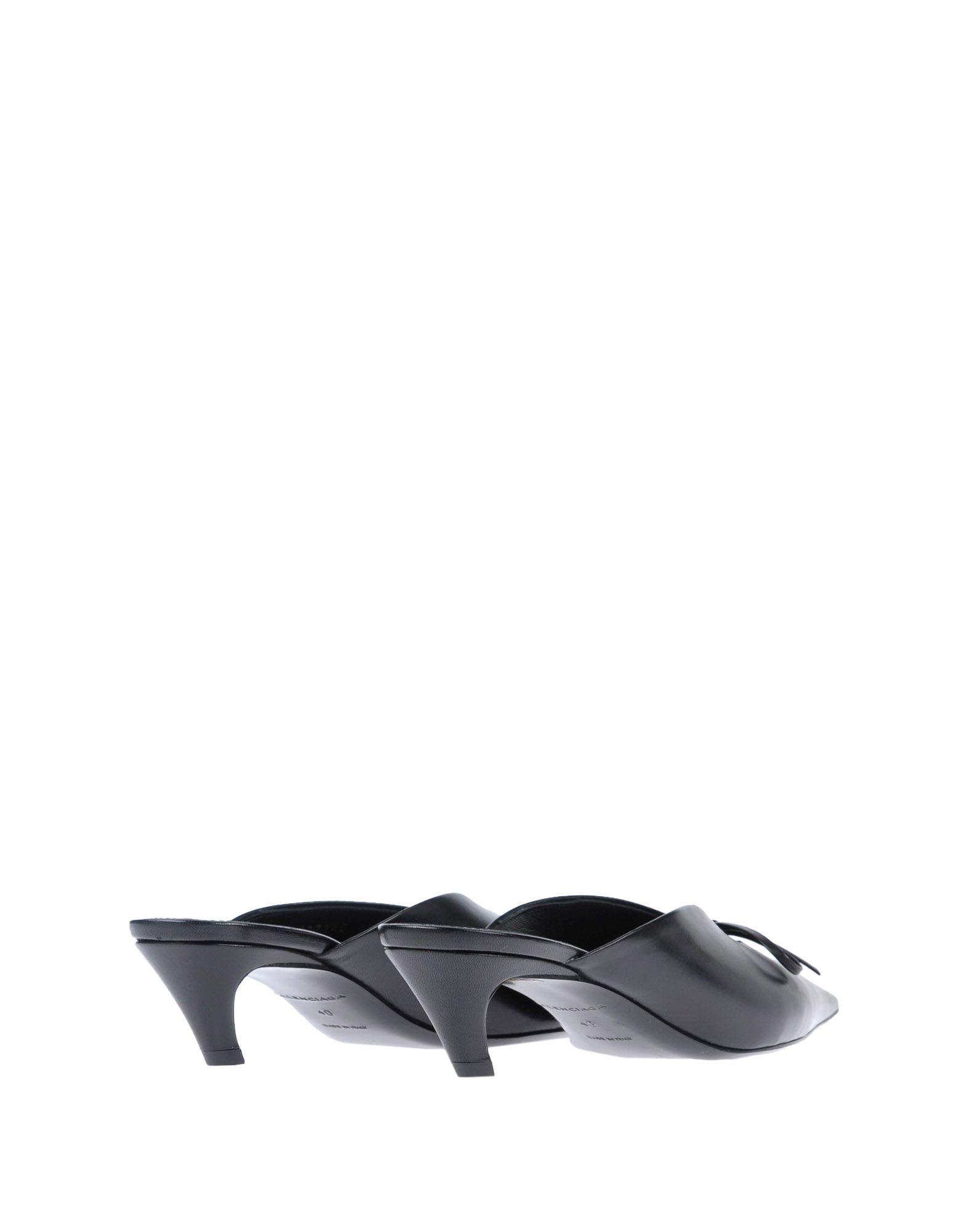 Balenciaga gut Pantoletten Damen  11489944CUGünstige gut Balenciaga aussehende Schuhe 86bc4b