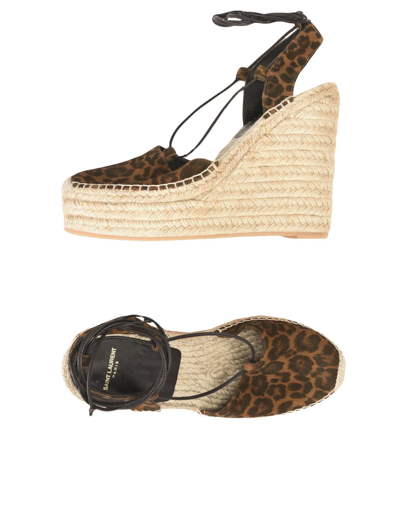 Rabatt Schuhe Saint Laurent Espadrilles Damen  11490079XS