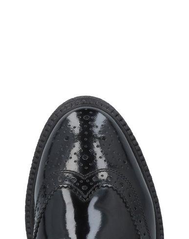 London À Base Noir Chaussures Lacets w78q4HTa