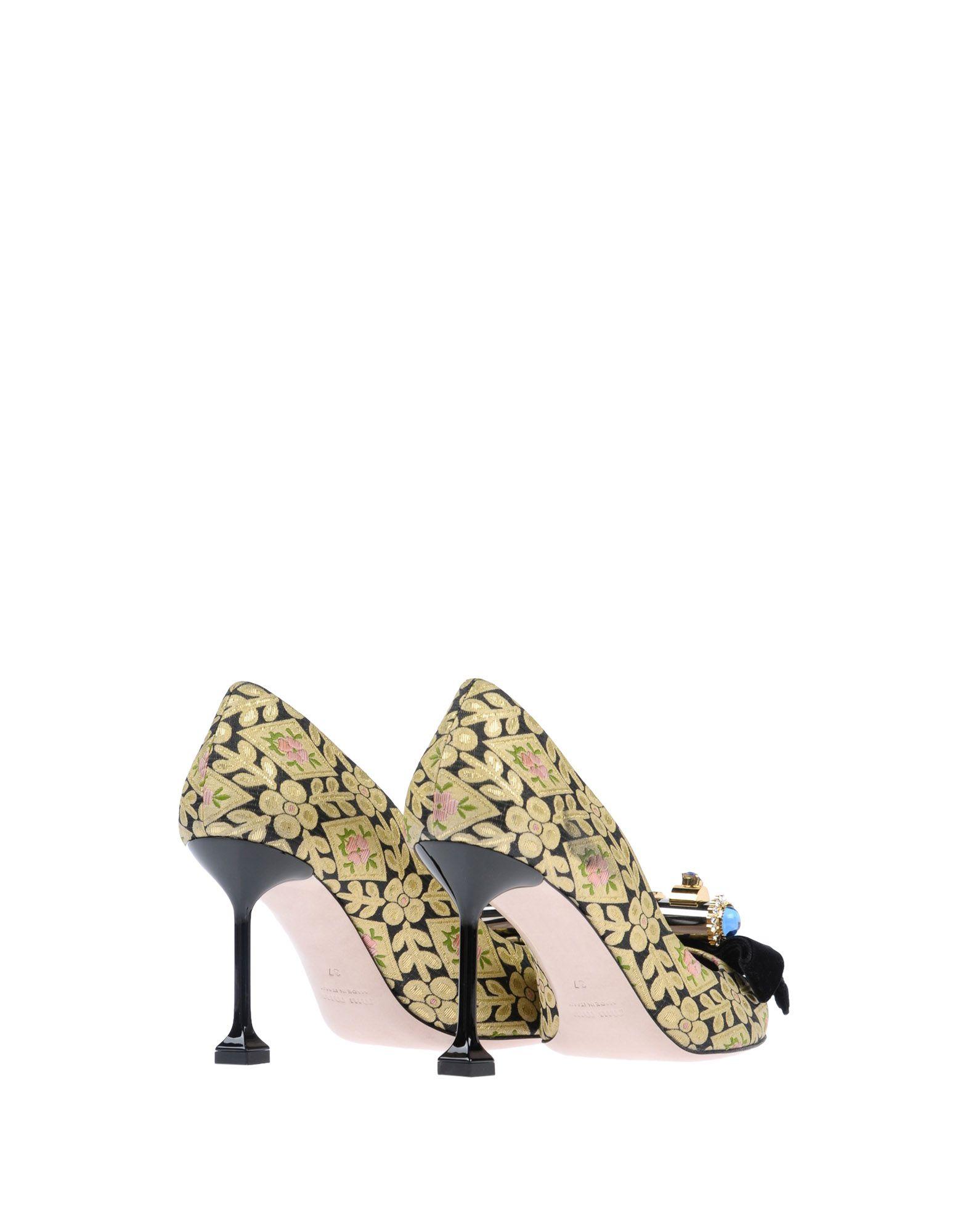 Miu Miu Pumps Damen  Schuhe 11490419UDGünstige gut aussehende Schuhe  f797bc