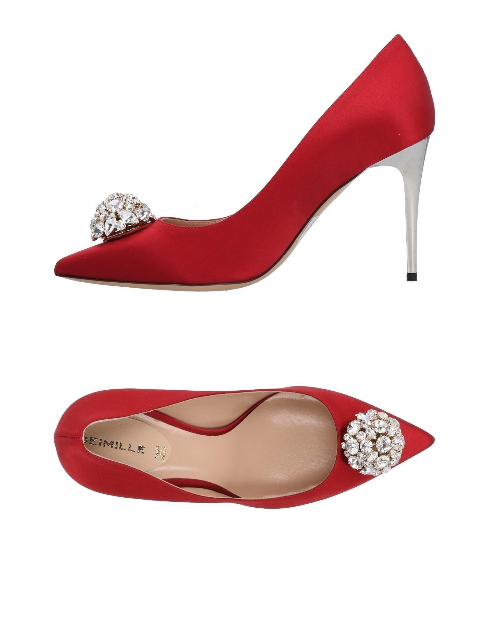 Stilvolle billige Schuhe Deimille Pumps Damen  11490420BK
