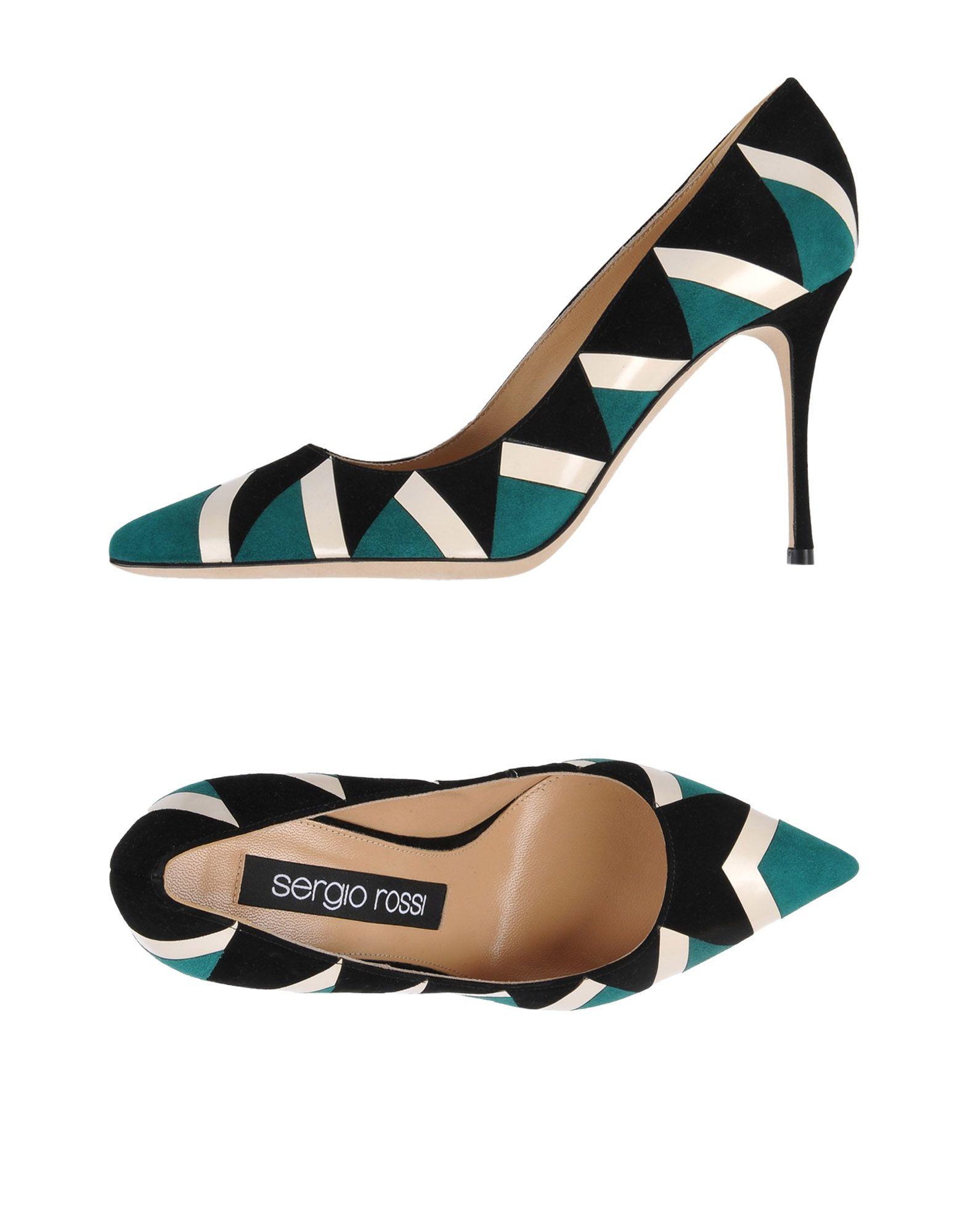 Descuento de Salón la marca Zapato De Salón de Sergio Rossi Mujer - Salones Sergio Rossi  Verde 903d83