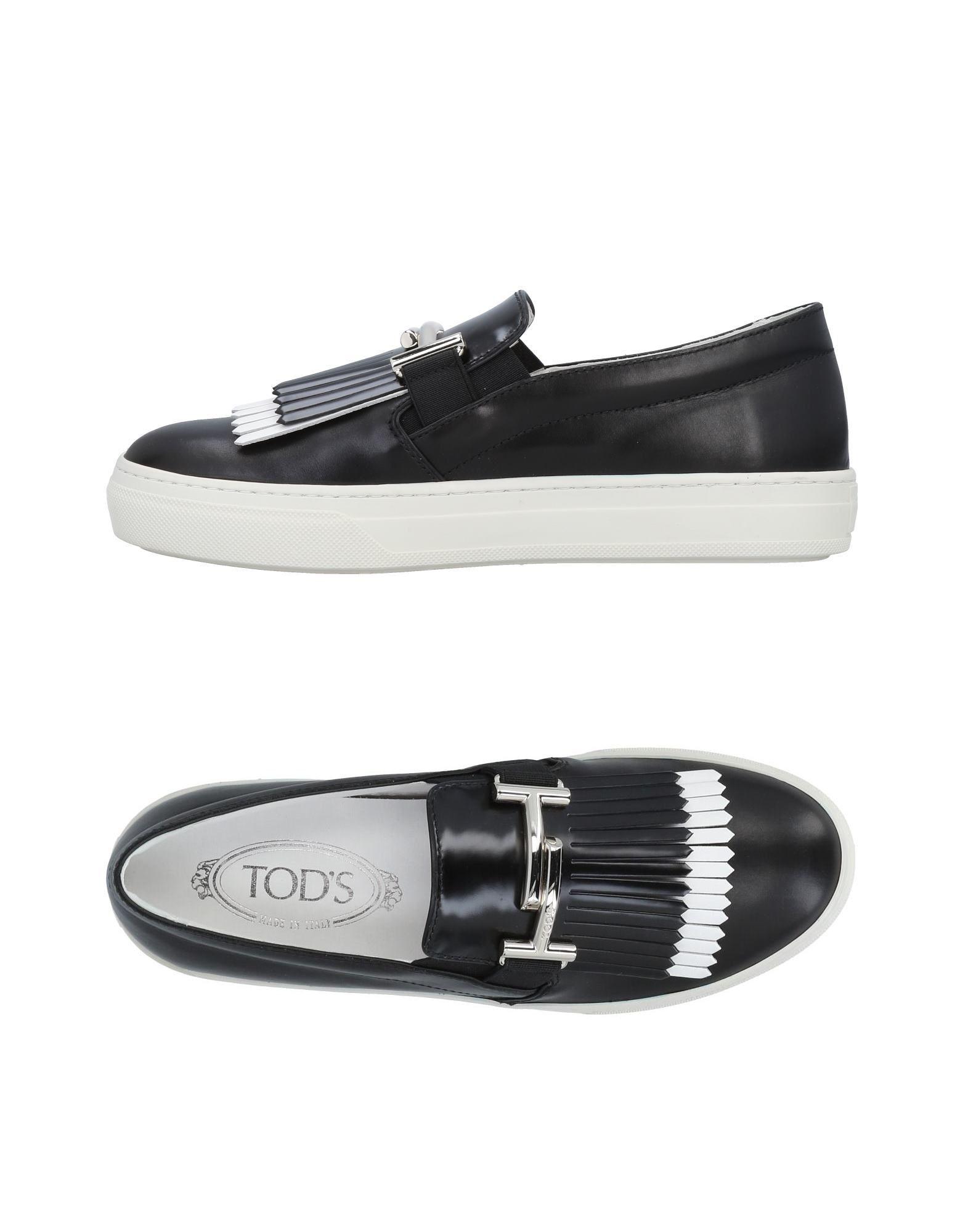 Rabatt Schuhe Tod's Mokassins Damen  11490637KB