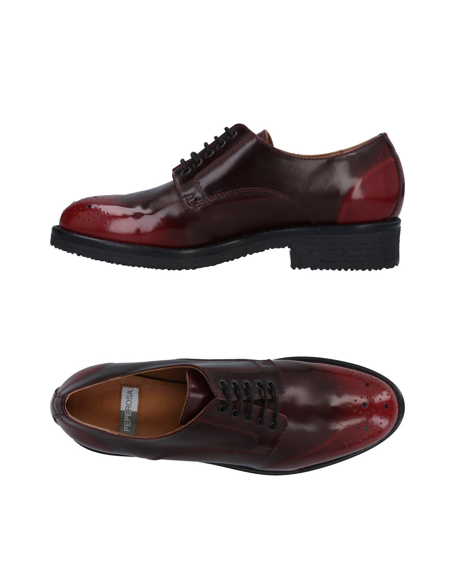 Günstige und modische Schuhe Peperosa Schnürschuhe Damen  11490649RM