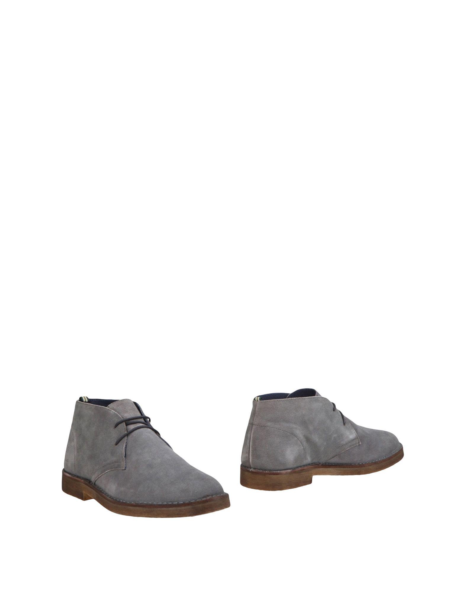 Rabatt echte Schuhe Henry Cotton's Stiefelette Herren  11490664MX