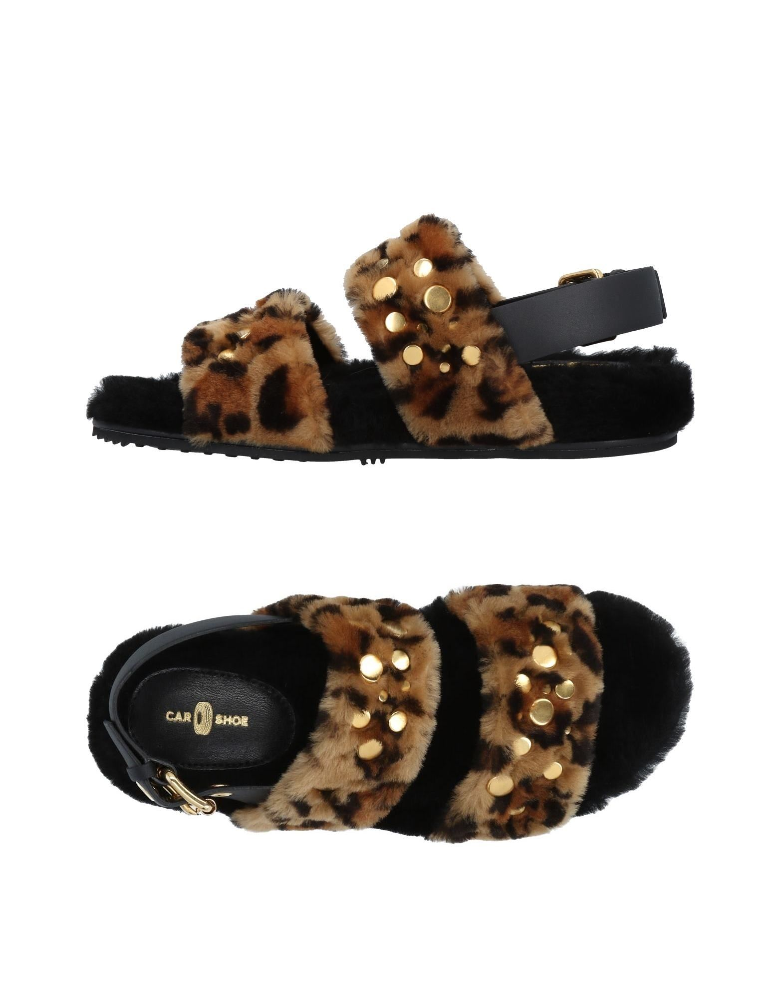 Rabatt Schuhe Carshoe Sandalen Damen  11490685IM