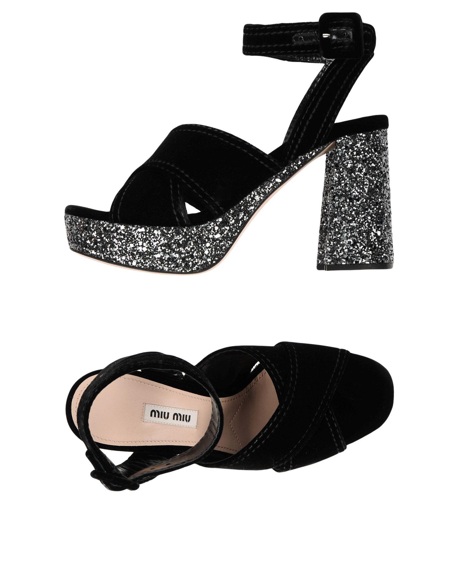 Miu Miu Sandals - Women Miu  Miu Sandals online on  Miu Australia - 11490712PK cb49e0