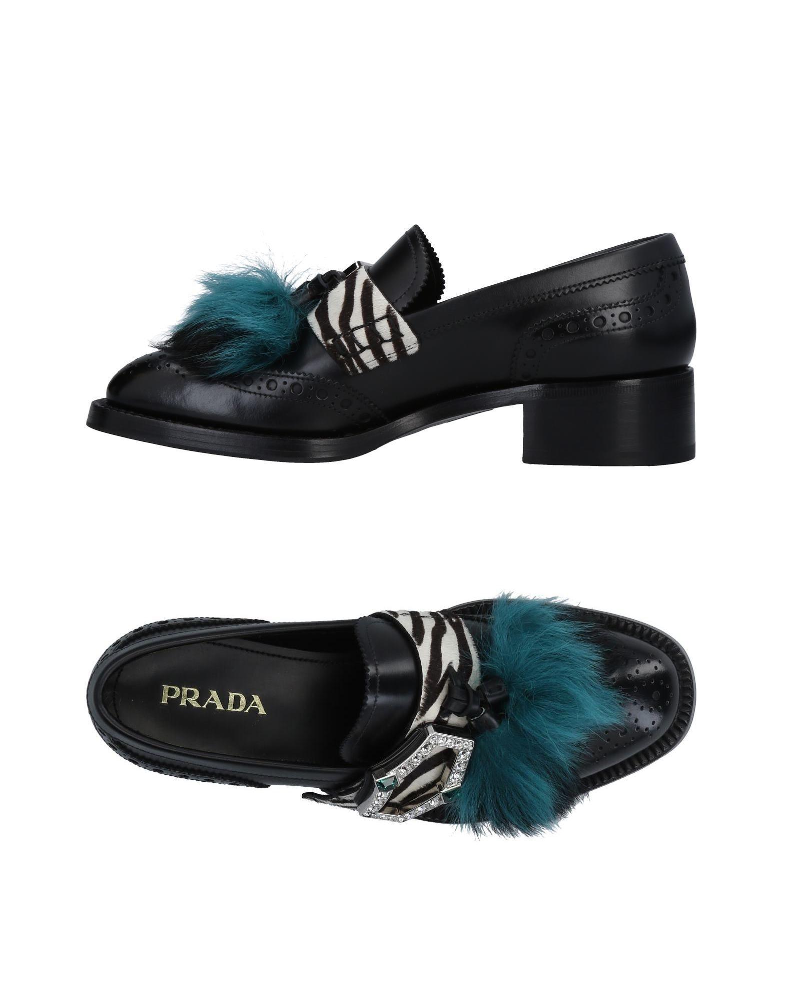 Prada Mokassins Damen  11490825FJGünstige gut aussehende Schuhe