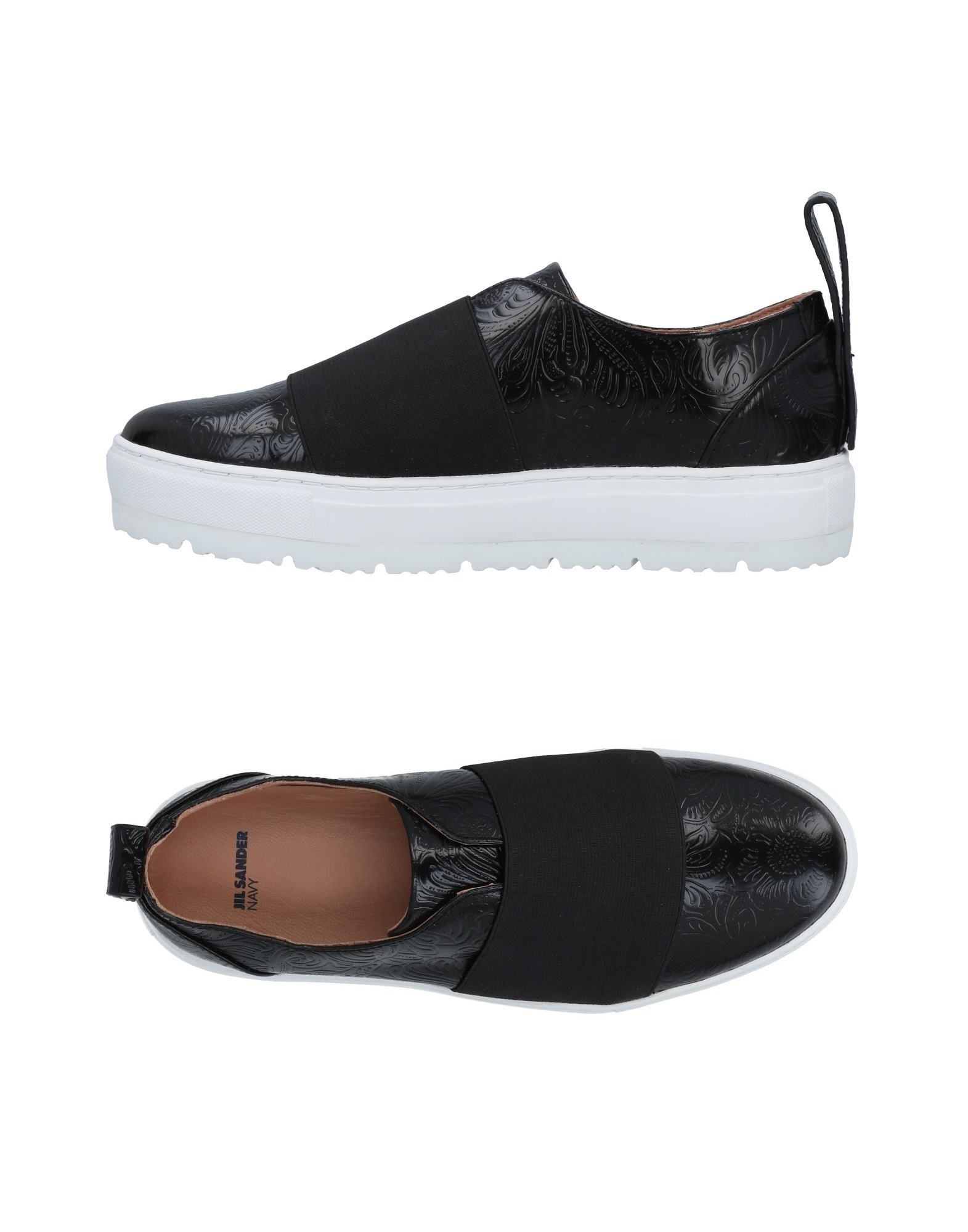 Stilvolle billige Schuhe Jil Sander Navy Sneakers Damen  11490835EH