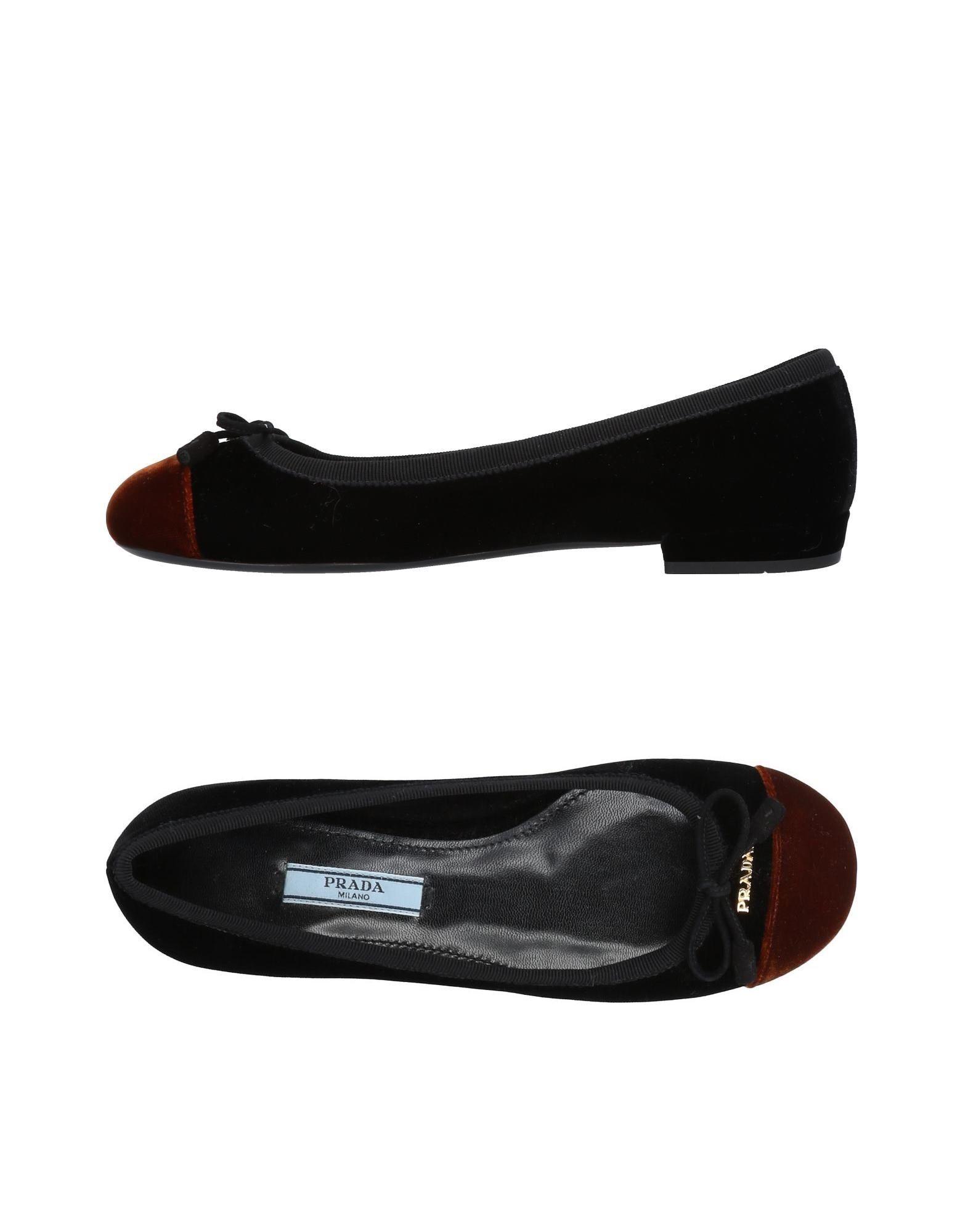 Prada Ballerinas Damen  11490997PNGünstige gut aussehende Schuhe