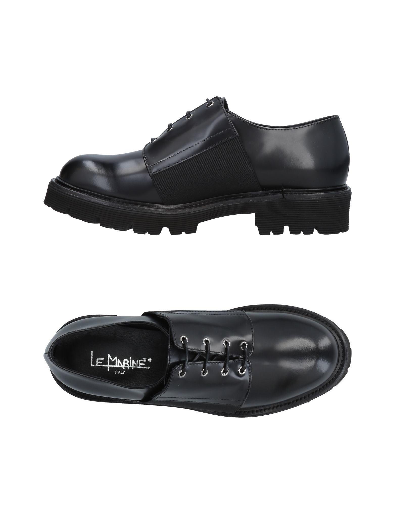 Stilvolle billige Schuhe Le Marinē Schnürschuhe Damen  11491190QR