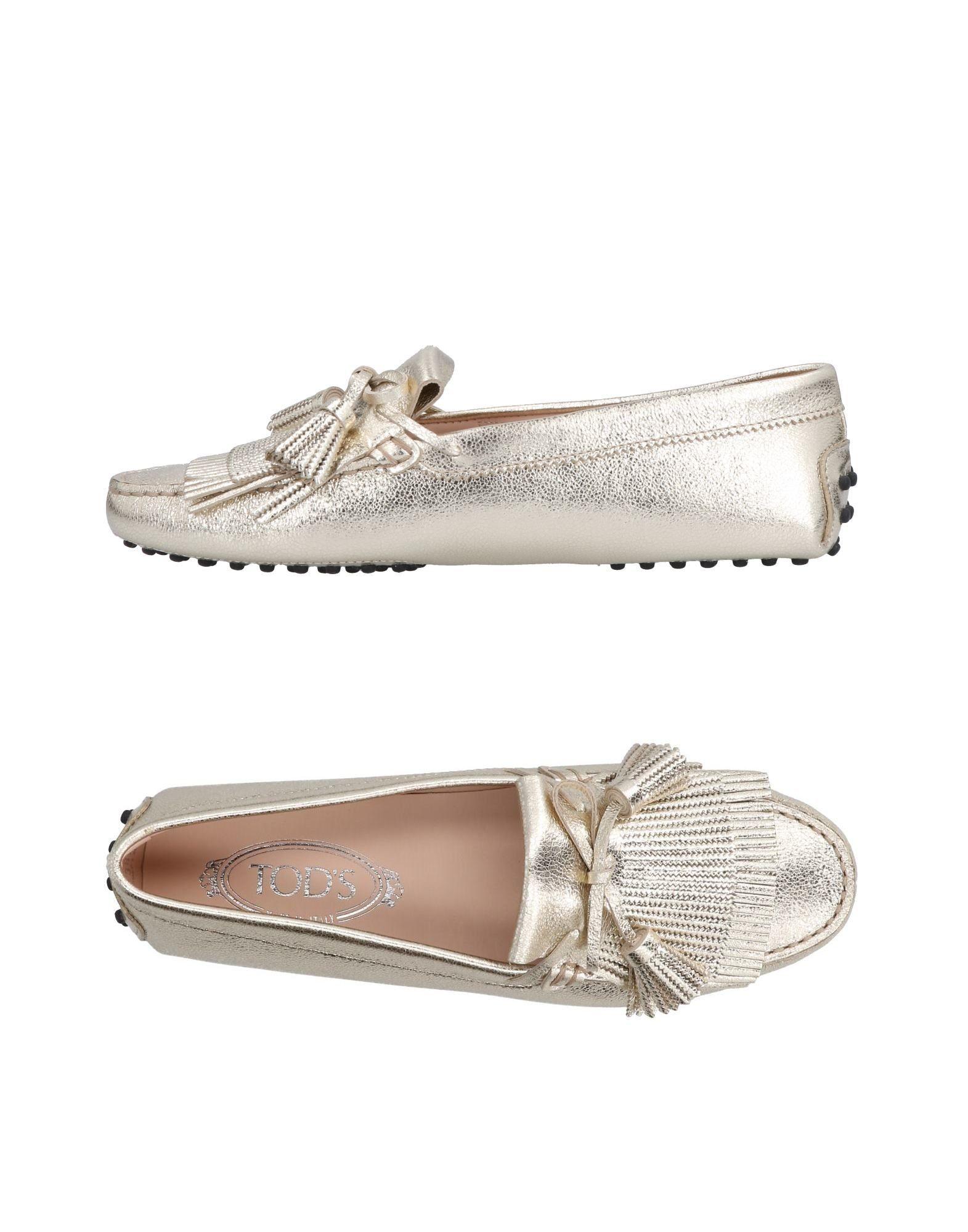 Rabatt Schuhe Tod's Mokassins Damen  11491202UI
