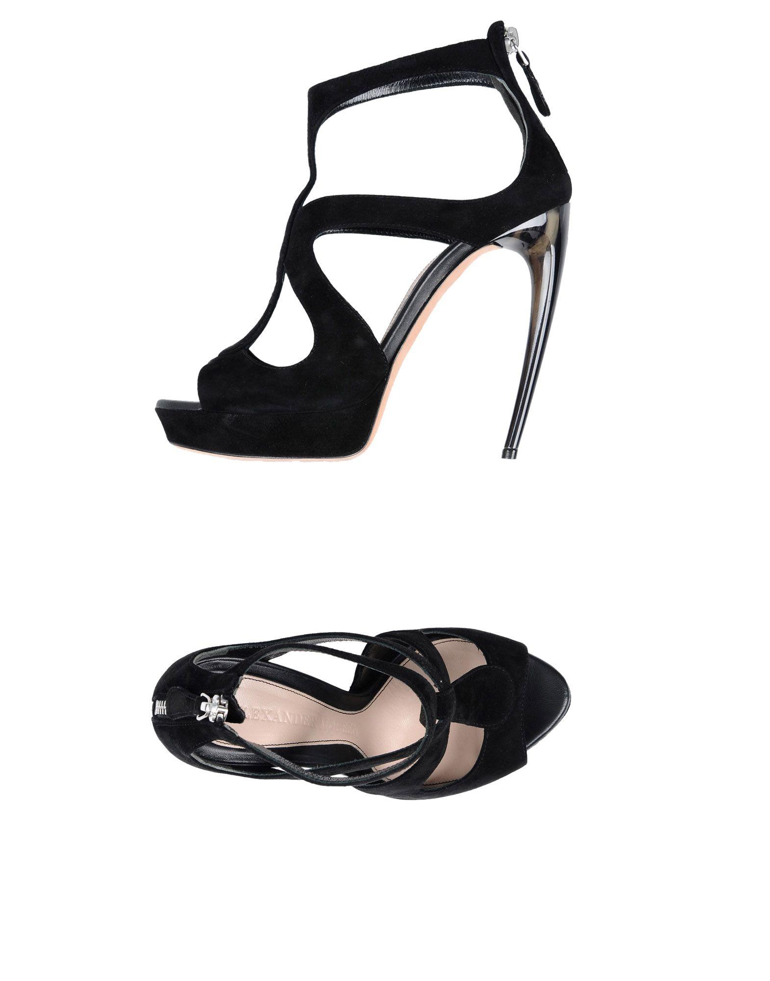 Alexander Mcqueen Sandalen Schuhe Damen  11491220AJ Neue Schuhe Sandalen dea2be