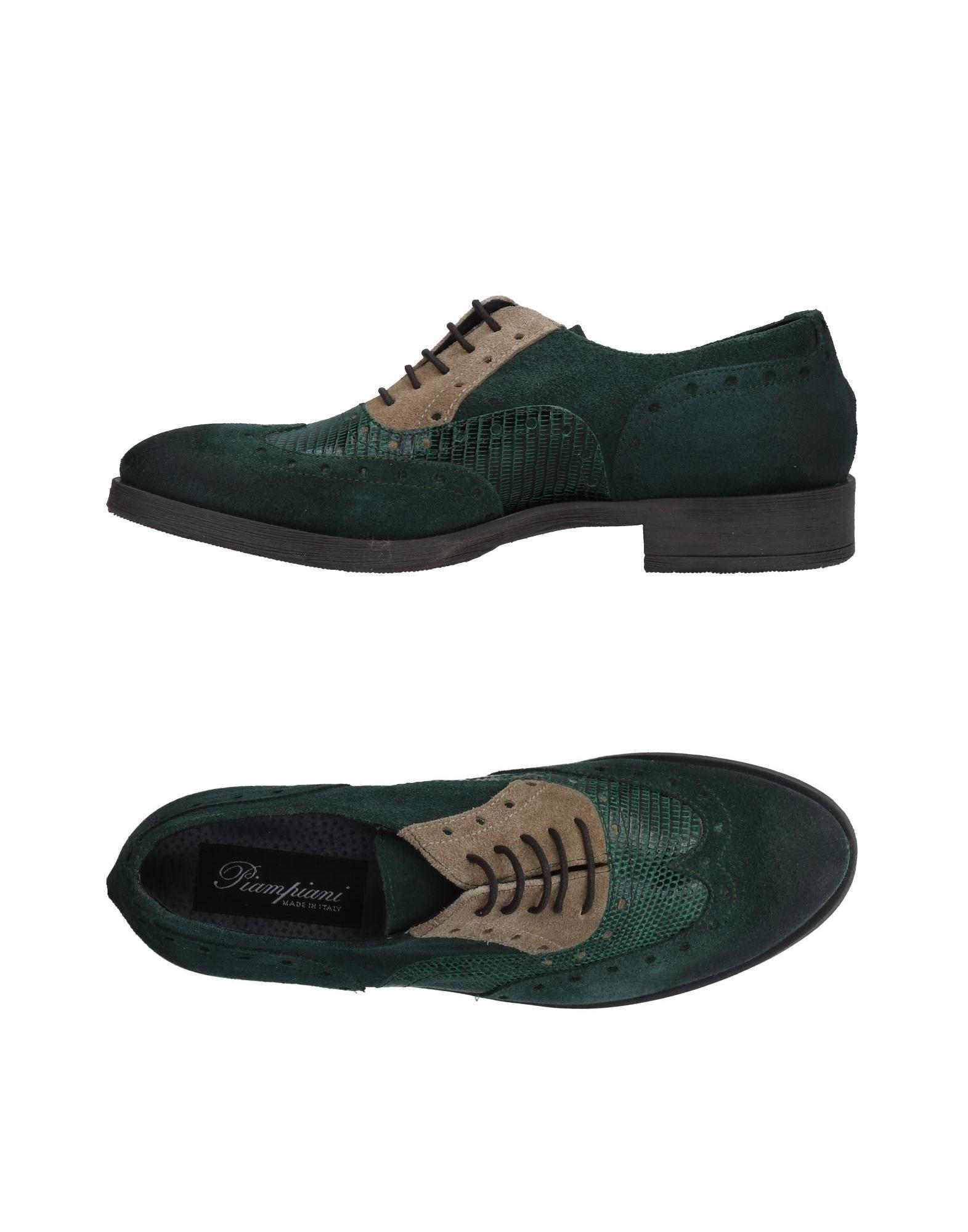 Nuevos zapatos para hombres y mujeres, descuento por por descuento tiempo limitado Zapato De Cordones Piampiani Mujer - Zapatos De Cordones Piampiani  Verde 9ab105