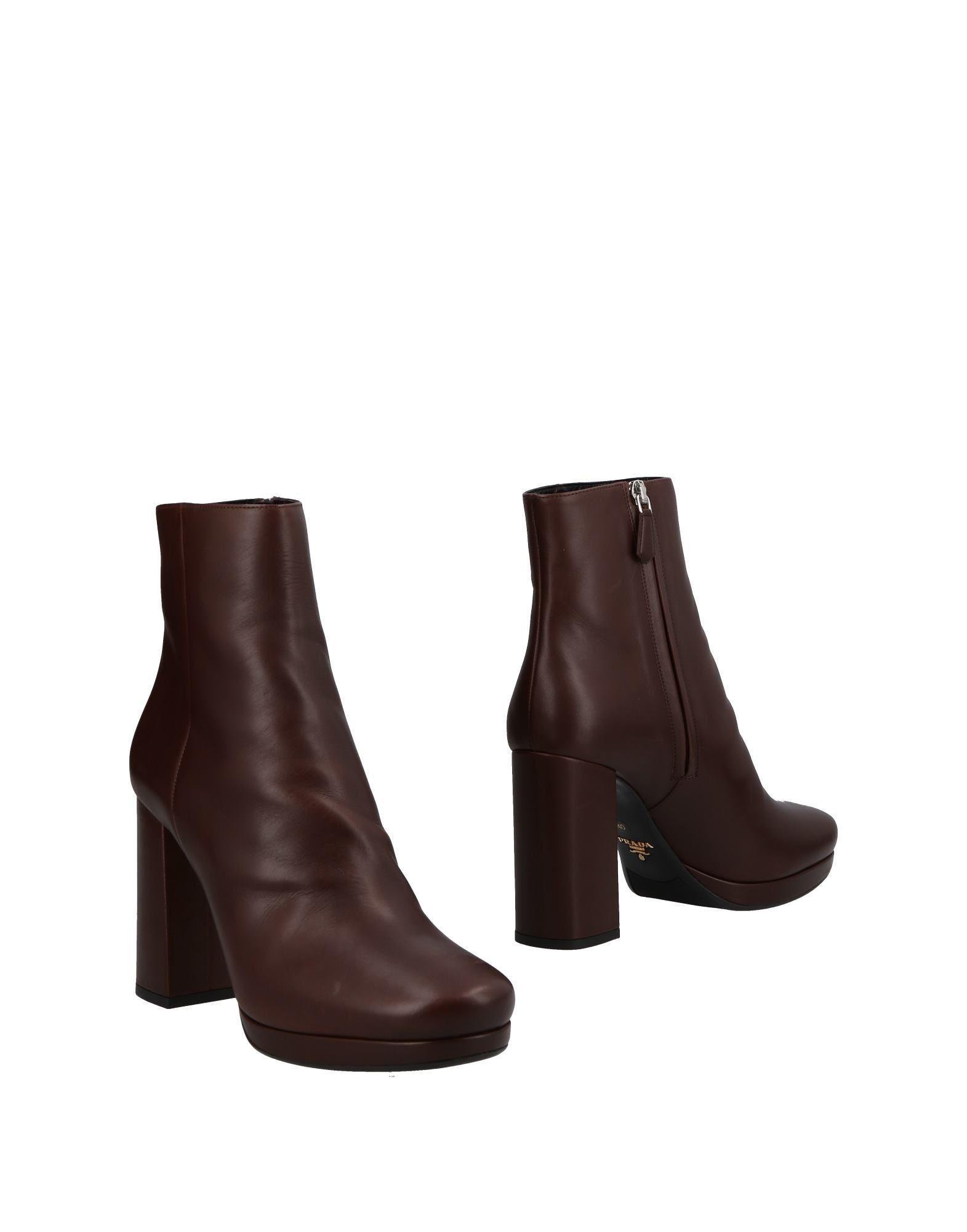 Prada Stiefelette Damen  11491312OOGünstige gut aussehende Schuhe