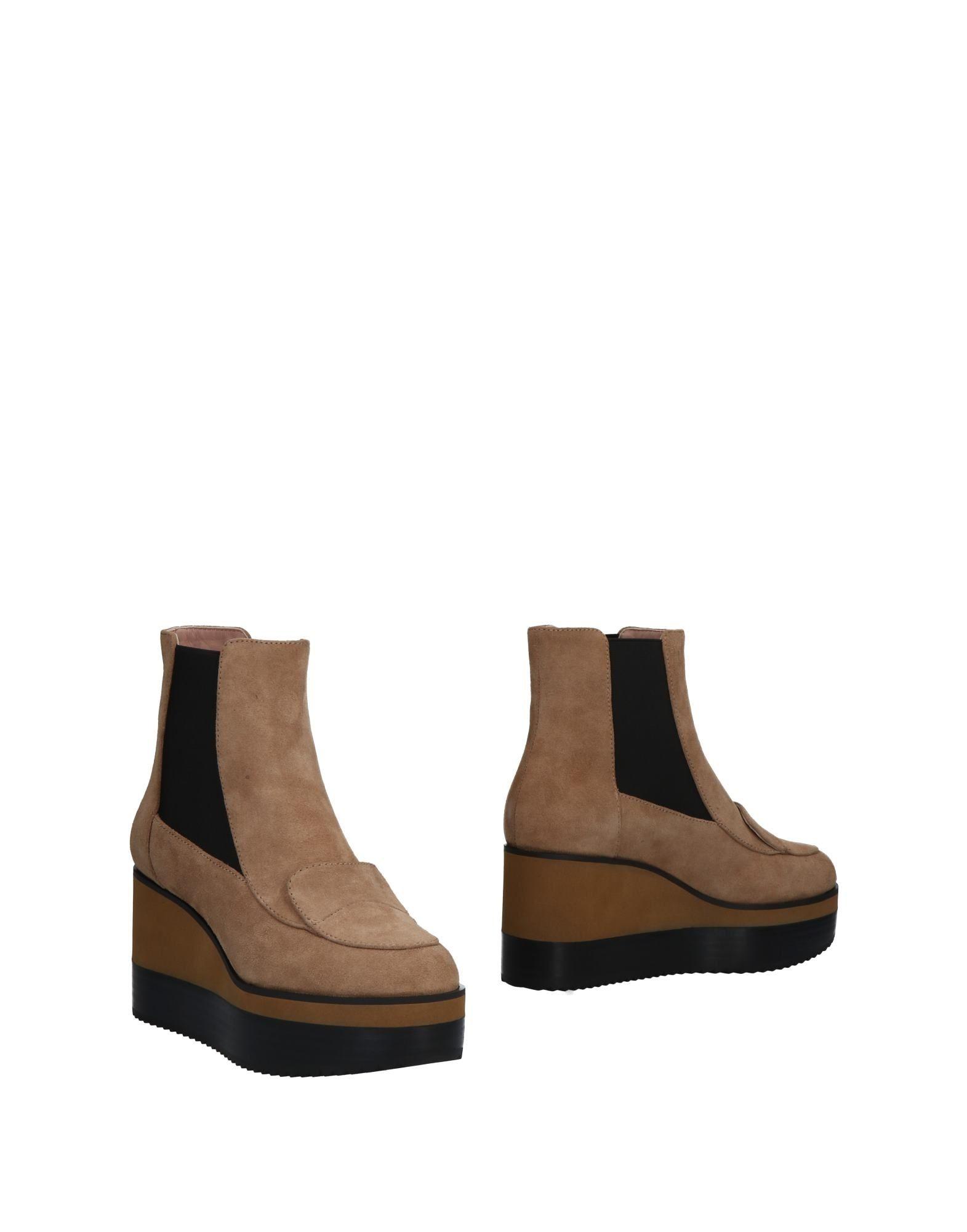 Rabatt Schuhe Jil Sander Navy Chelsea Boots Damen  11491510TW