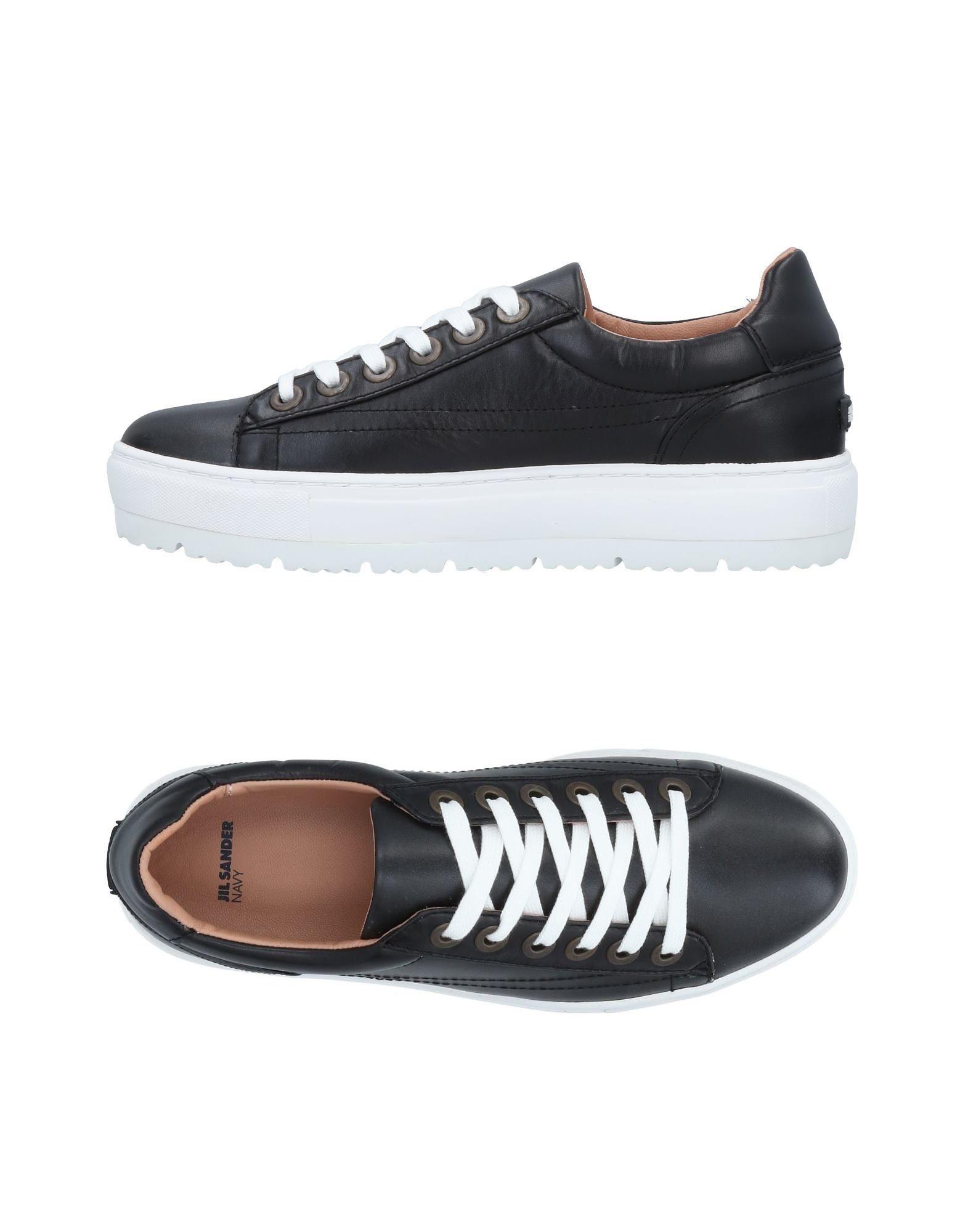 Stilvolle billige Schuhe Jil Sander Navy Sneakers Damen  11491517RE
