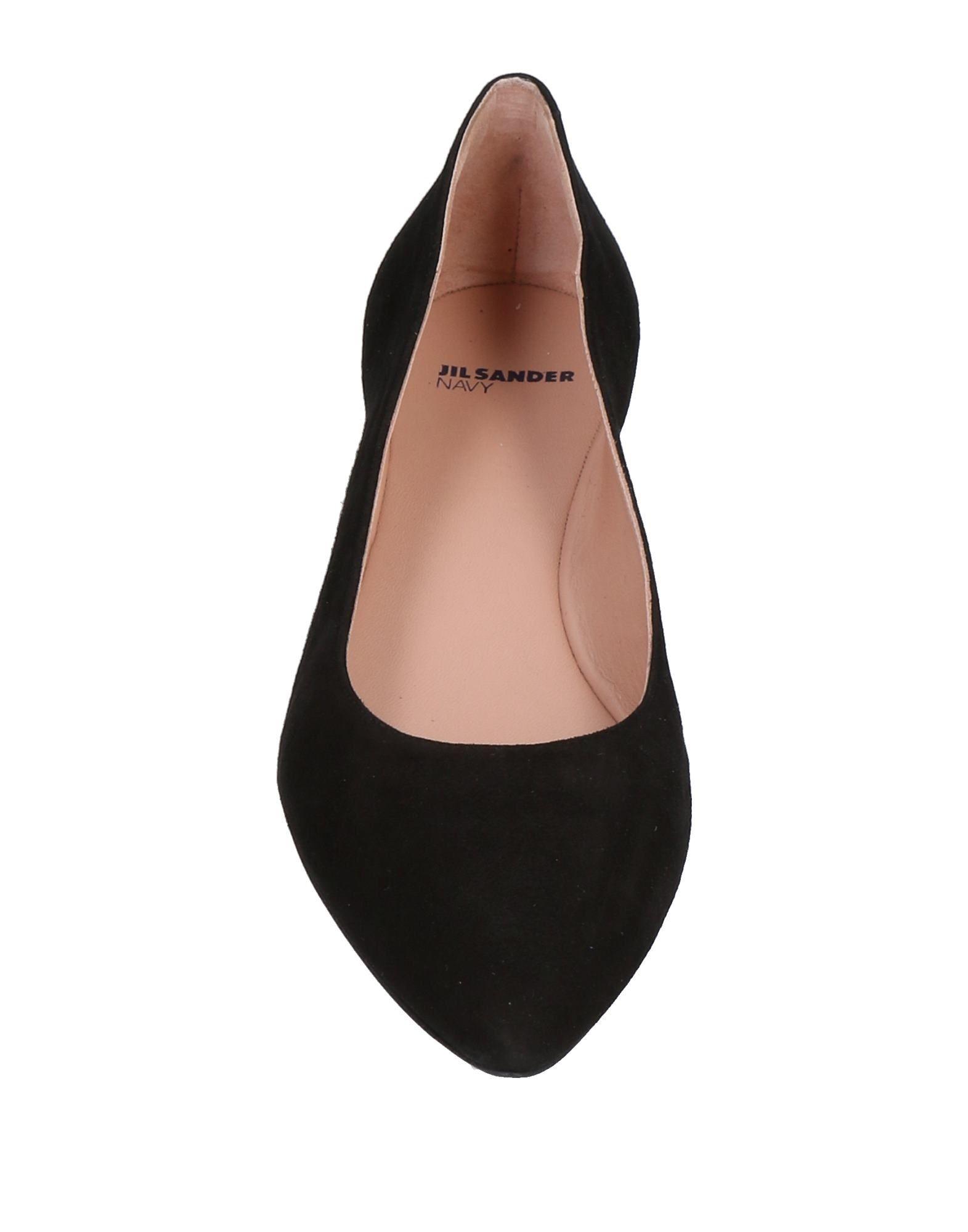 Jil Sander Navy Ballerinas Damen  11491535JW Neue Schuhe Schuhe Schuhe 731321