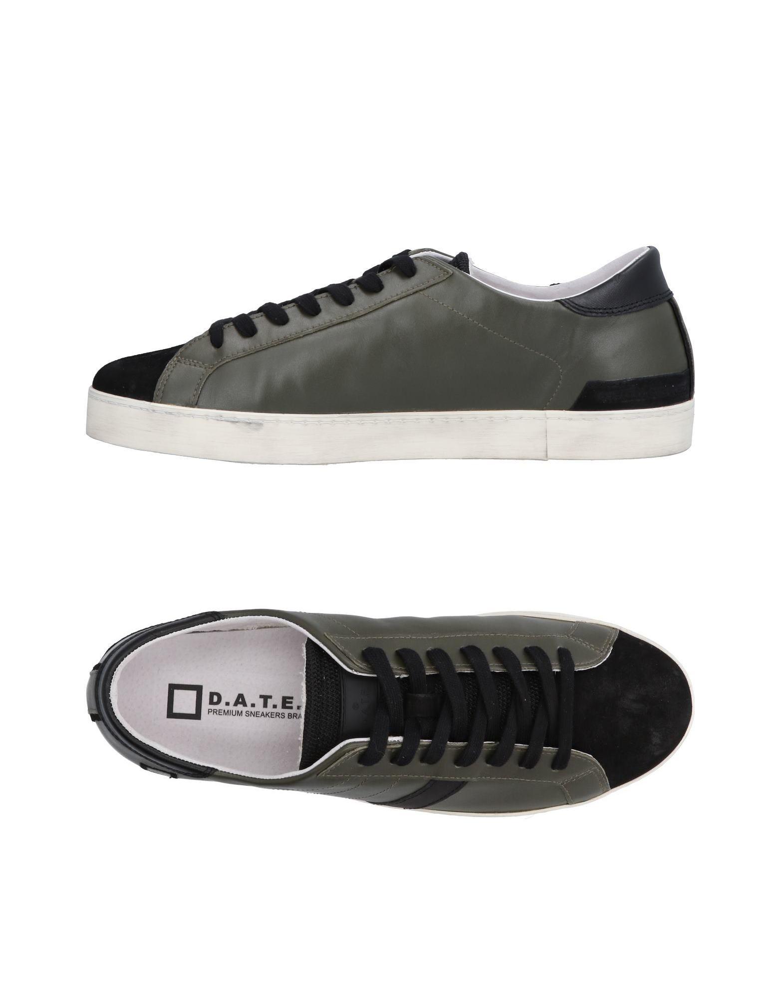 Rabatt echte Schuhe D.A.T.E. Sneakers Herren  11491645TA