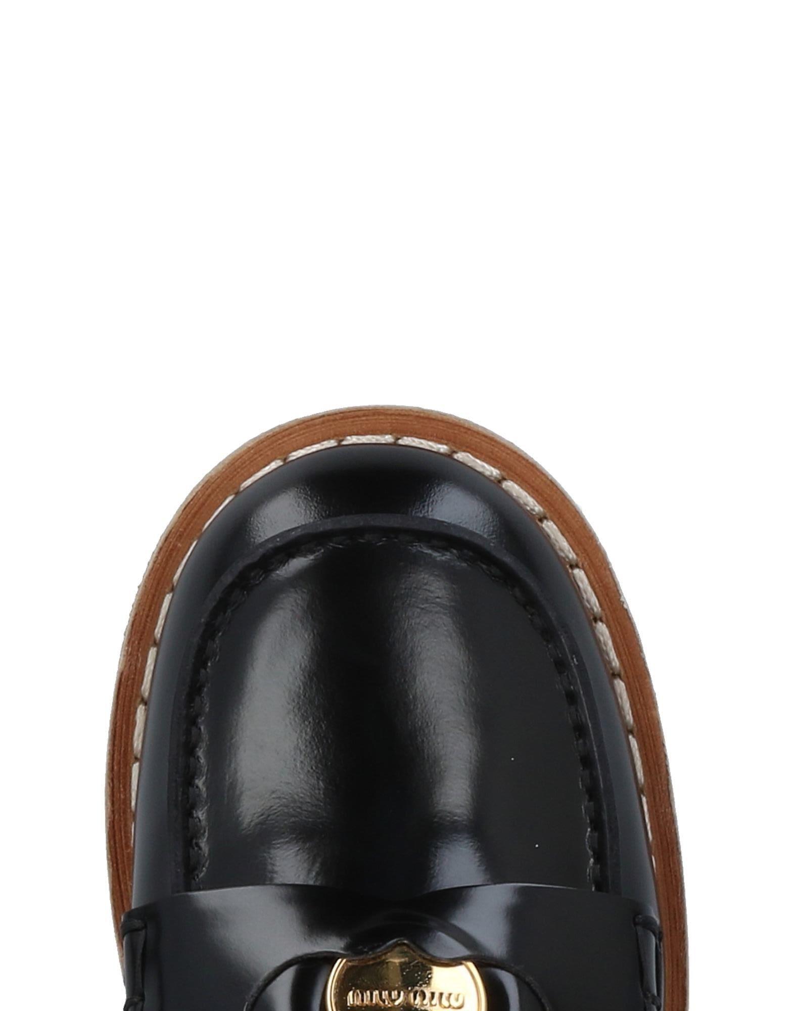 Rabatt Schuhe Miu Miu Mokassins 11491927NW Damen  11491927NW Mokassins 1e9954