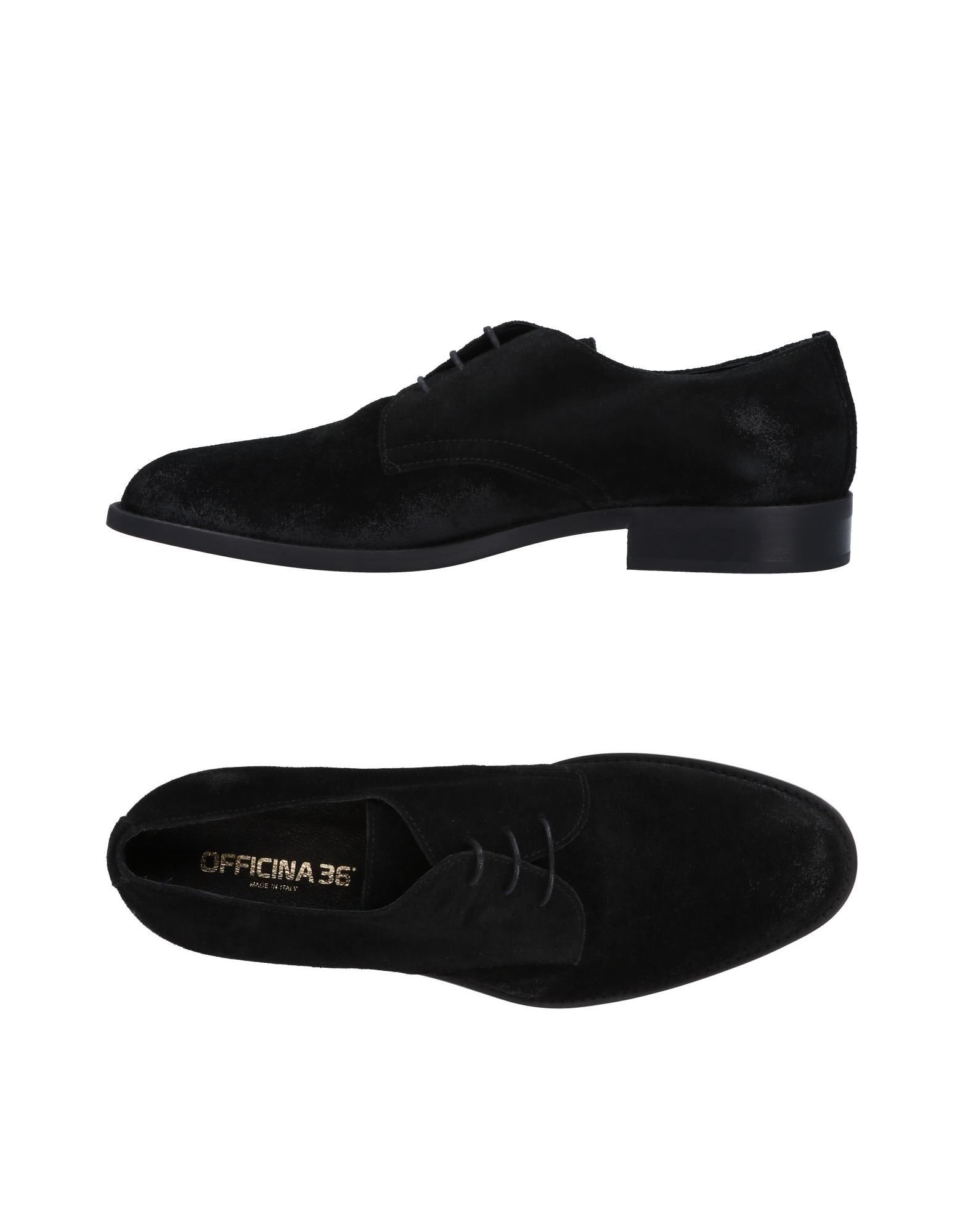 Rabatt echte Schuhe Officina 36 Schnürschuhe Herren  11491942TB