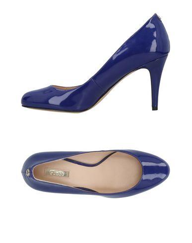Zapatos de hombres y mujeres de moda casual Zapato De Salón Guess Mujer - Salones Guess- 11490993LW Azul marino