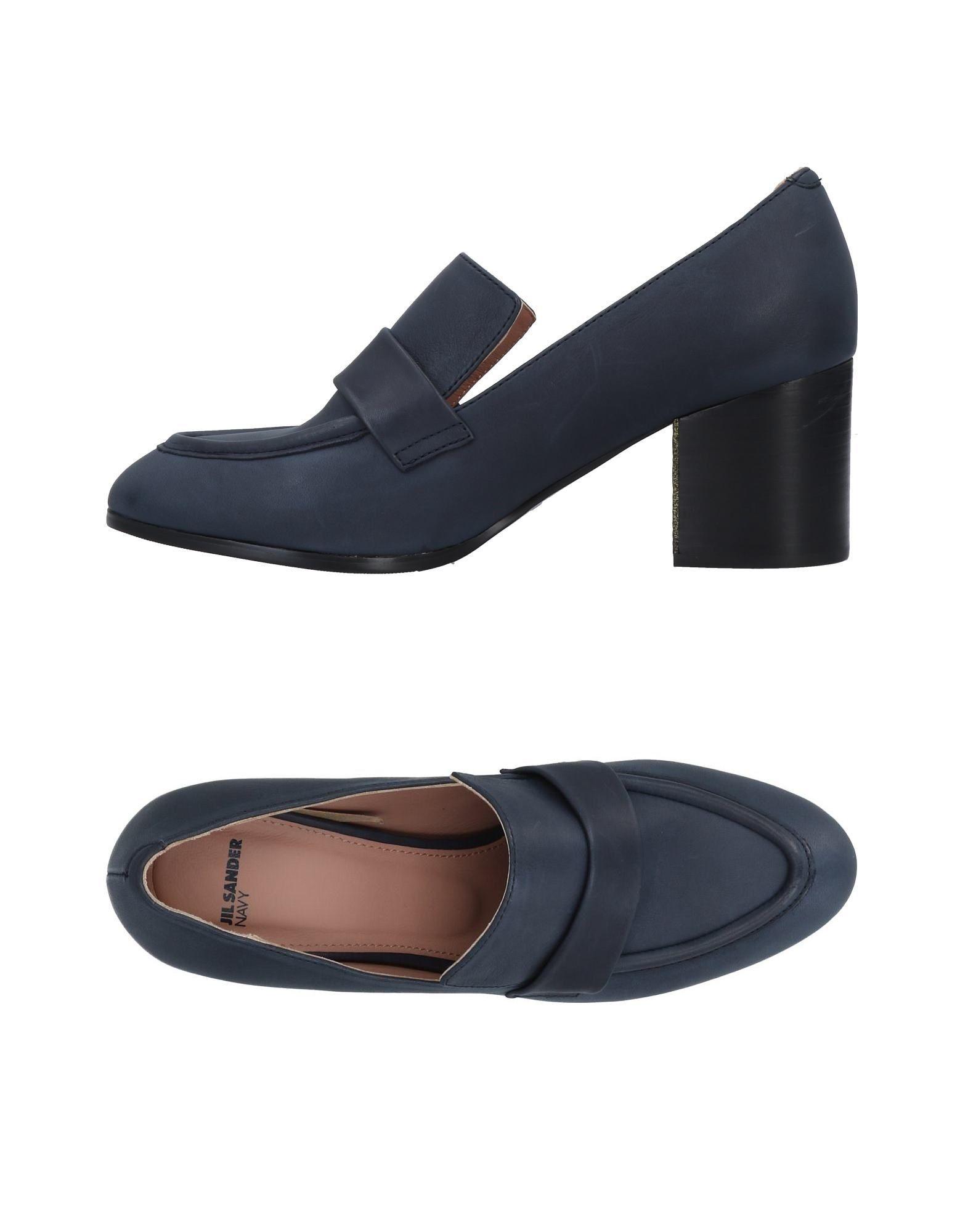 Stilvolle billige Schuhe Jil Sander Navy Mokassins Damen  11492067VJ