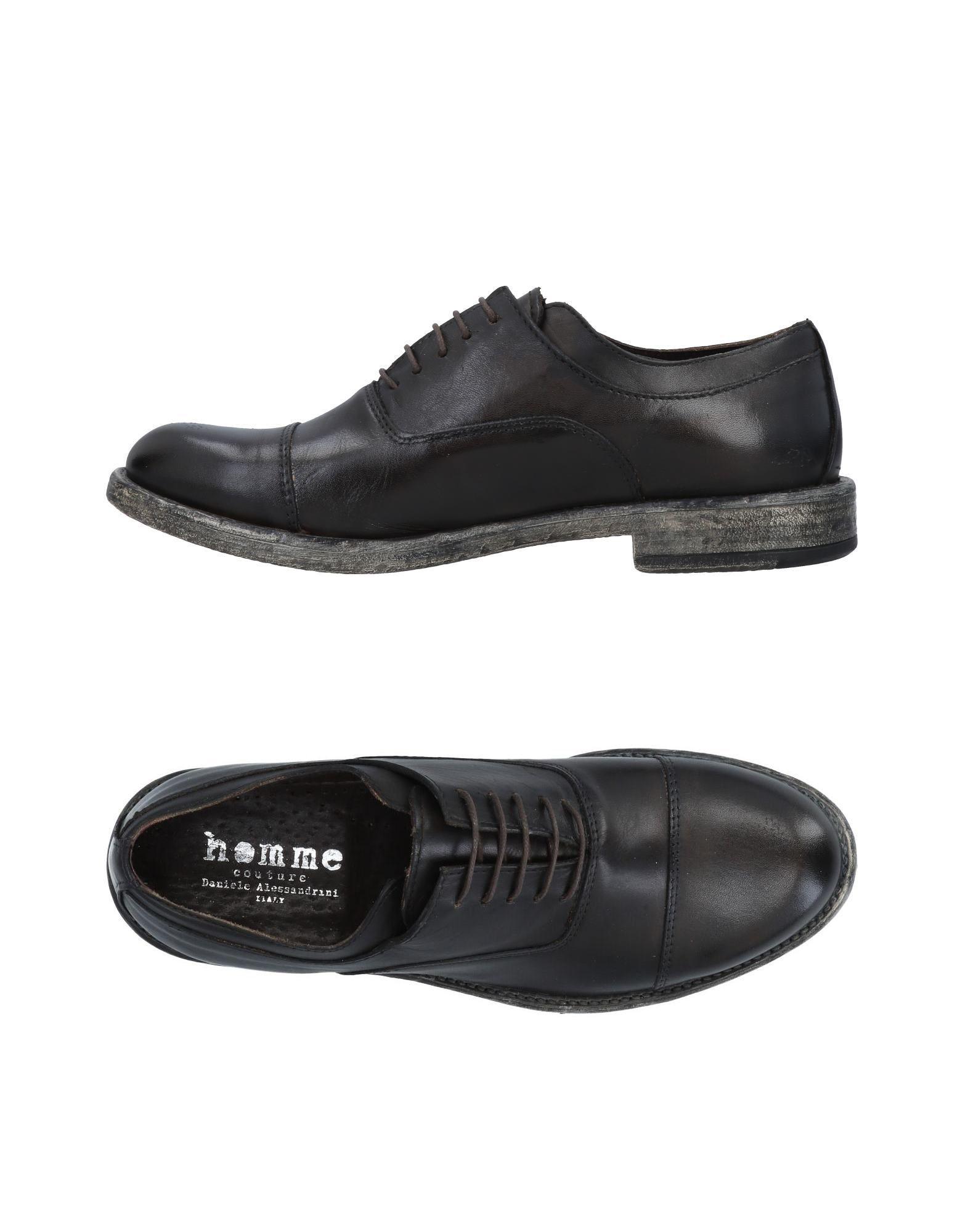 Rabatt echte Schuhe Daniele Alessandrini Homme Schnürschuhe Herren  11492173DQ