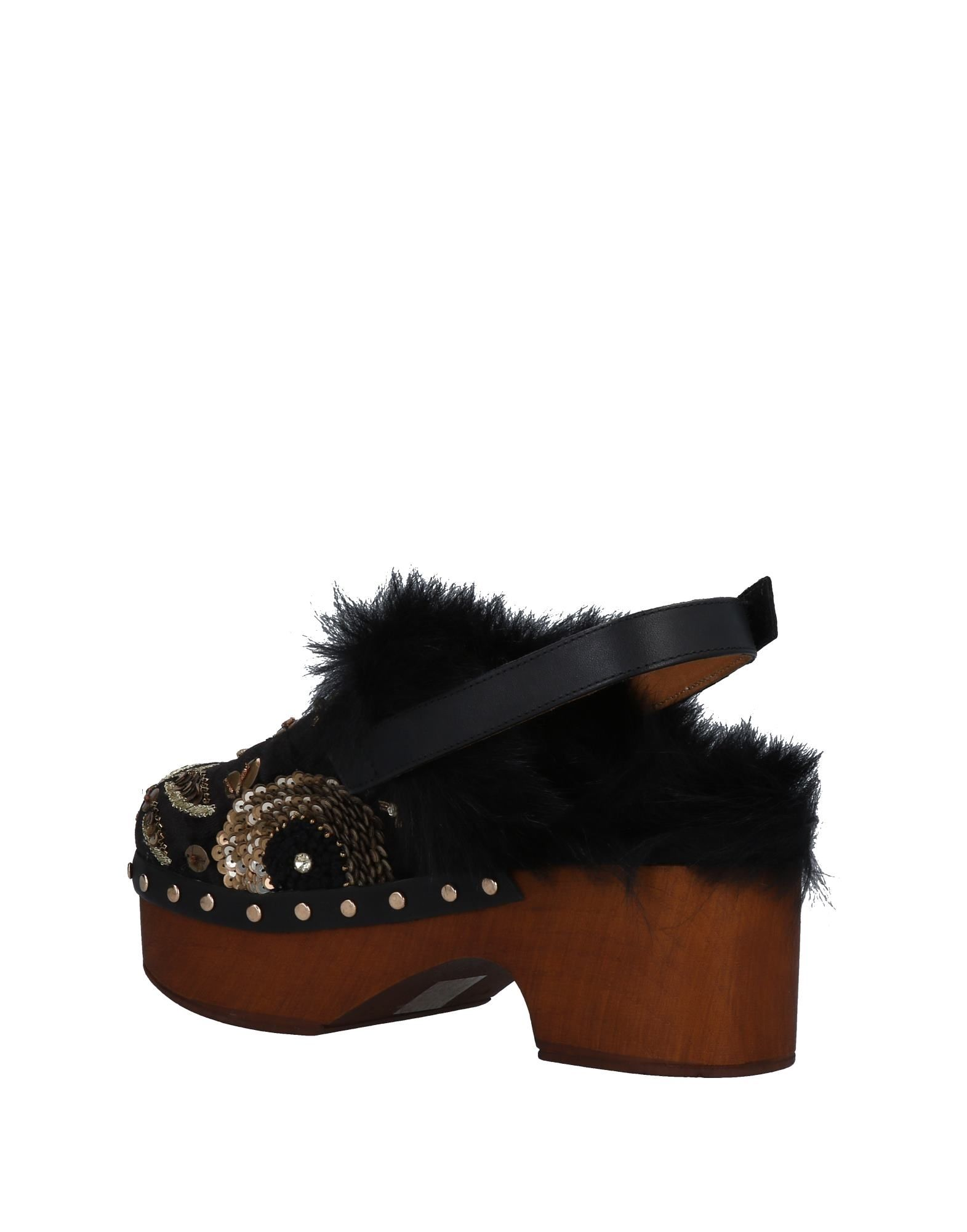 Gut um billige Schuhe zu tragenCoral Blue Pantoletten Damen  11492396GV