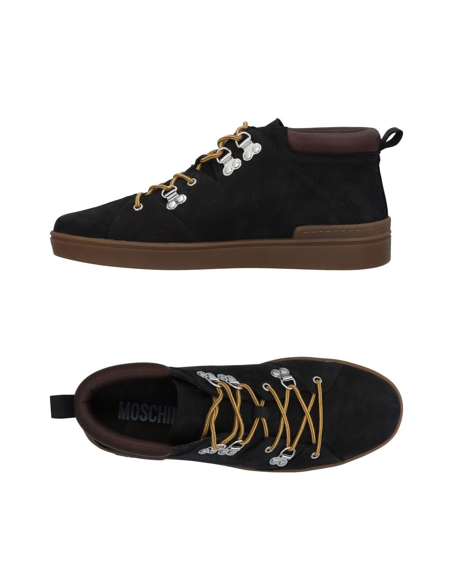 Rabatt echte Schuhe Moschino Sneakers Herren  11492468TF