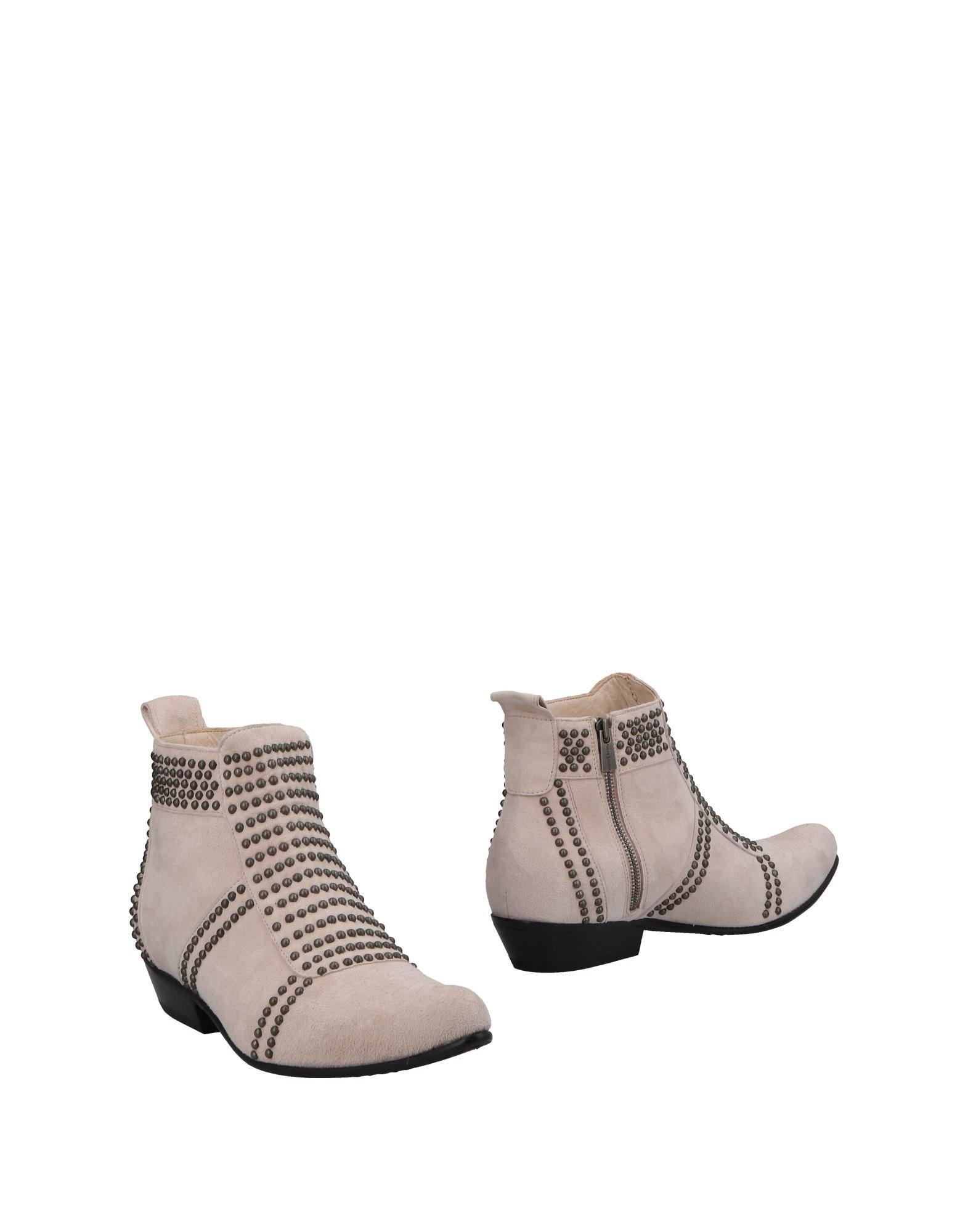 Bottine Anine Bing Femme - Bottines Anine Bing Gris tourterelle Chaussures casual sauvages