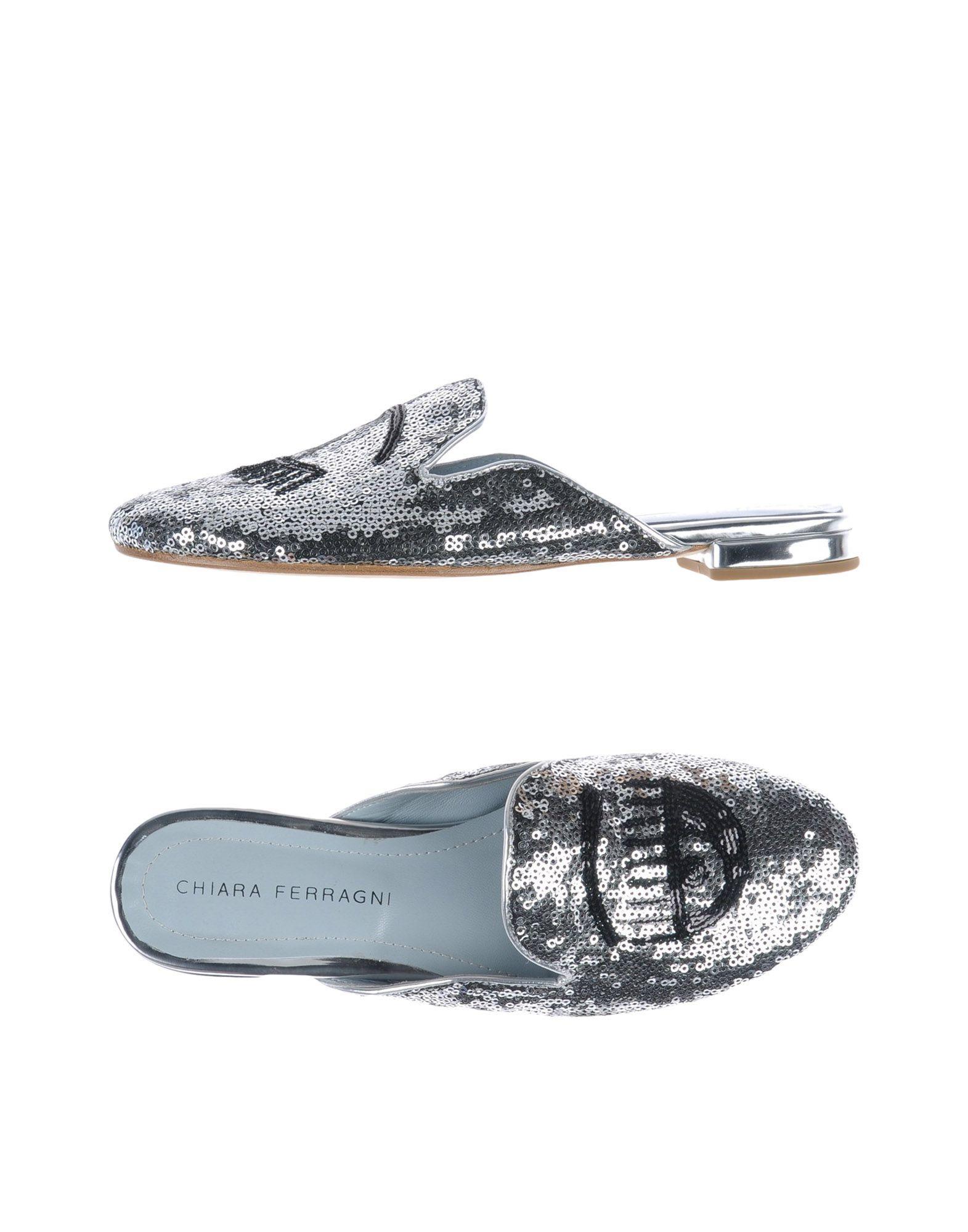 Chiara  Ferragni Pantoletten Damen  Chiara 11492948BKGut aussehende strapazierfähige Schuhe f6dd00