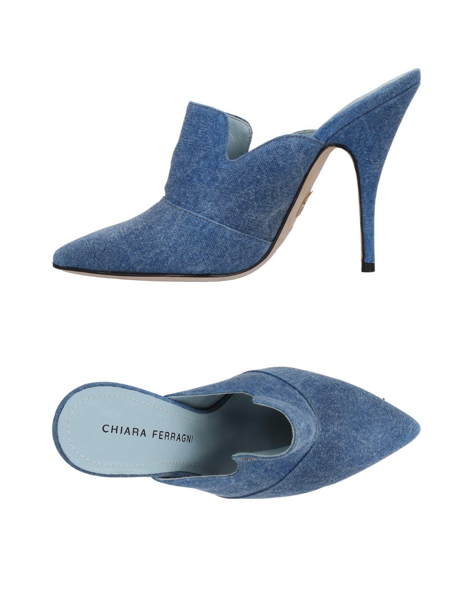 Rabatt Schuhe Chiara Ferragni Pantoletten Damen  11492950WS