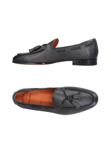 Zapatos con descuento Mocasín Santoni Hombre - Mocasines Santoni - 11492972BS Gris marengo