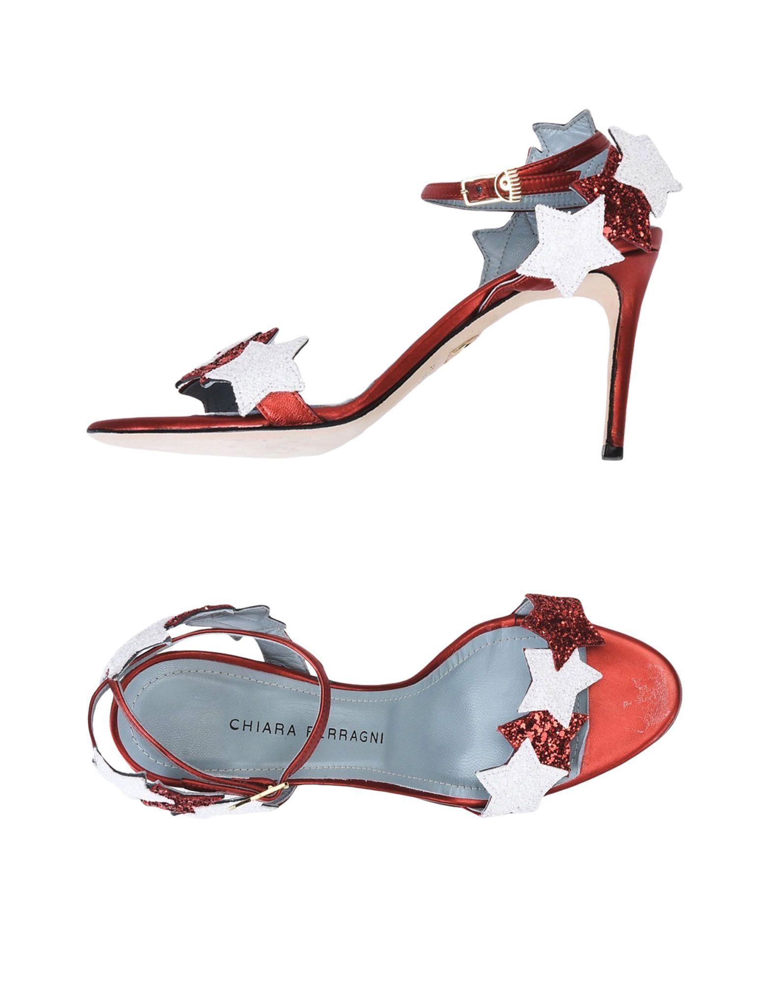 Rabatt Schuhe Chiara Ferragni Sandalen Damen  11492975KQ